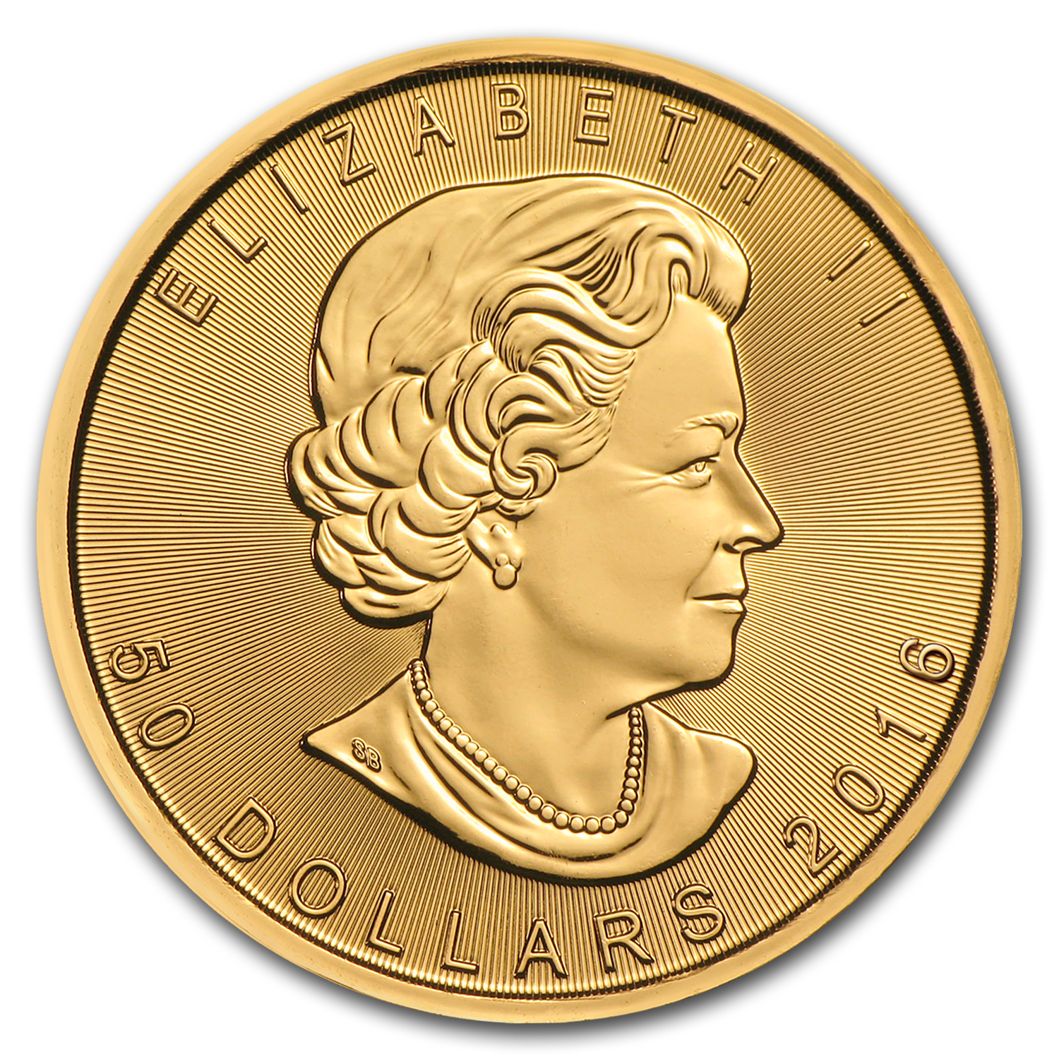 2016 Canada 1 oz Gold Maple Leaf (MintDirect® Single)
