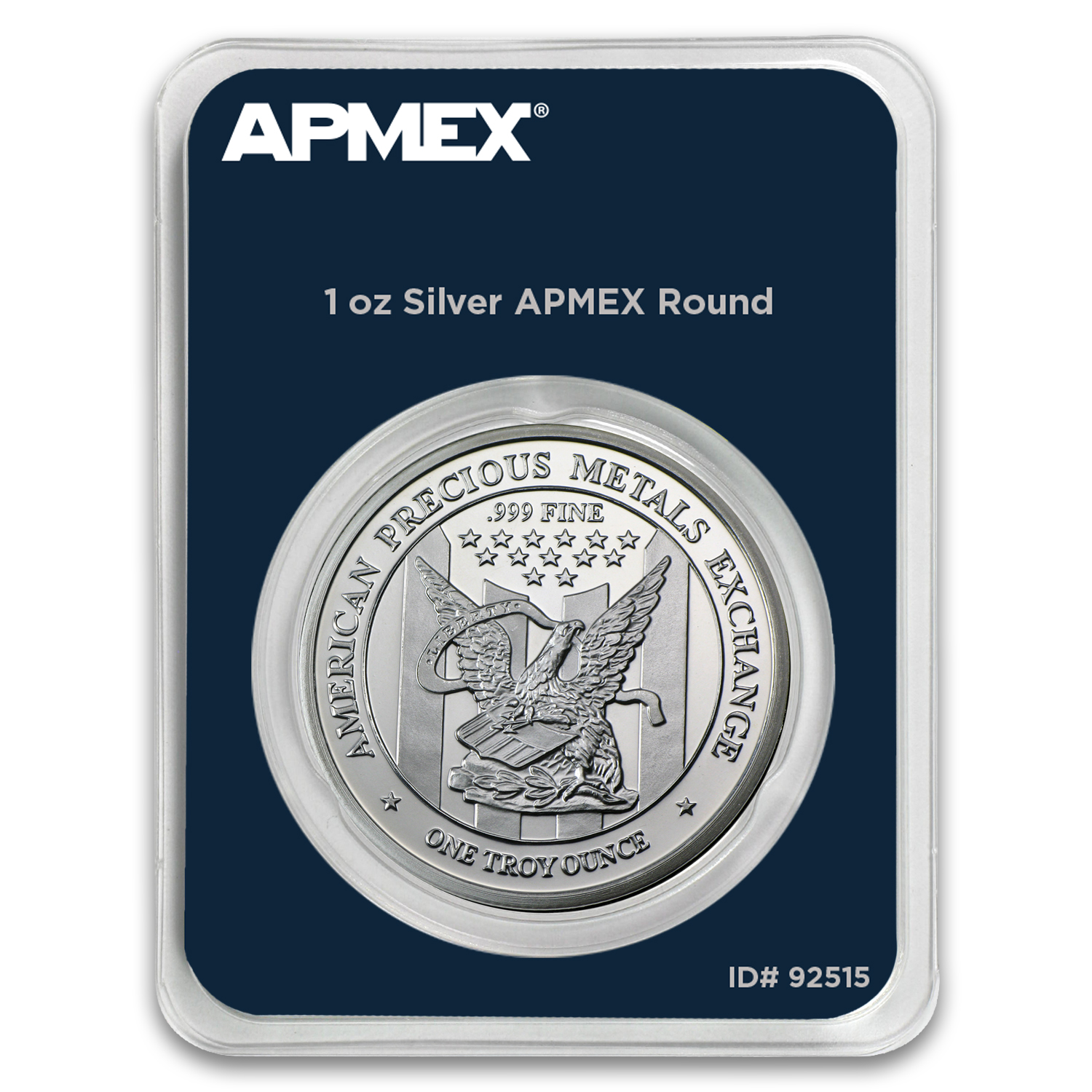 1 oz Silver Round - APMEX (in TEP package)