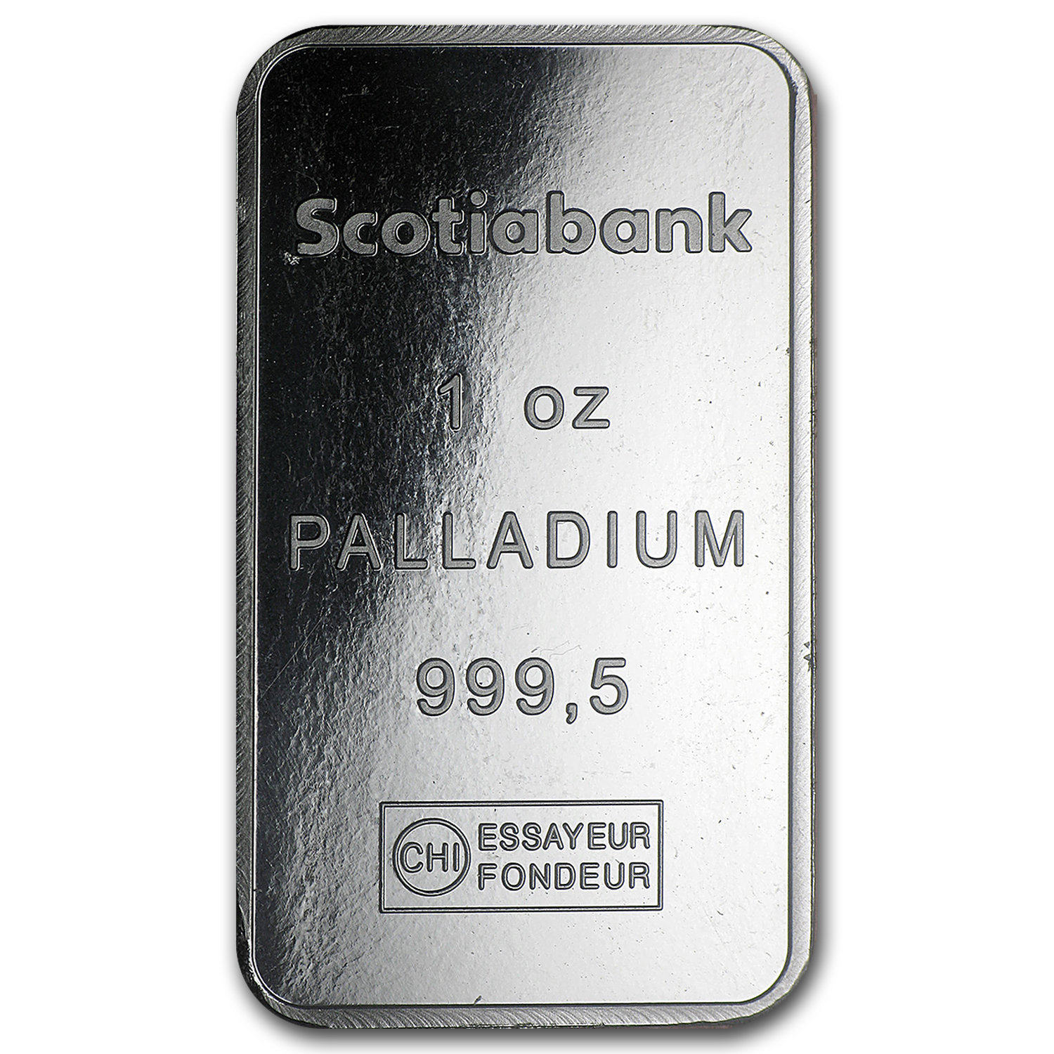 1 oz Palladium Bar - Scotiabank (In Assay)