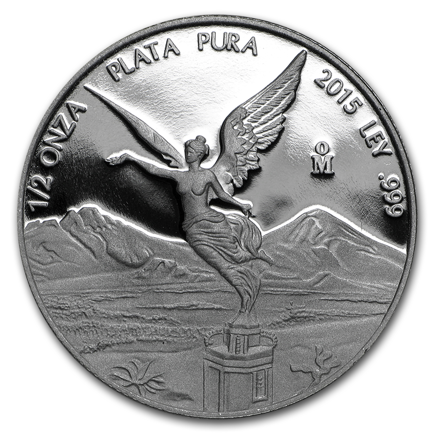 2015 Mexico 1/2 oz Silver Libertad Proof (In Capsule)