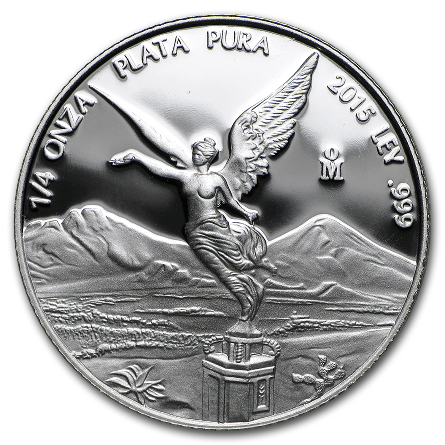 2015 Mexico 1/4 oz Silver Libertad Proof (In Capsule)