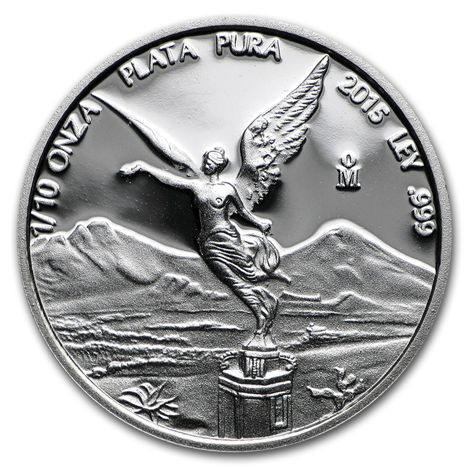 2015 Mexico 1/10 oz Silver Libertad Proof (In Capsule)