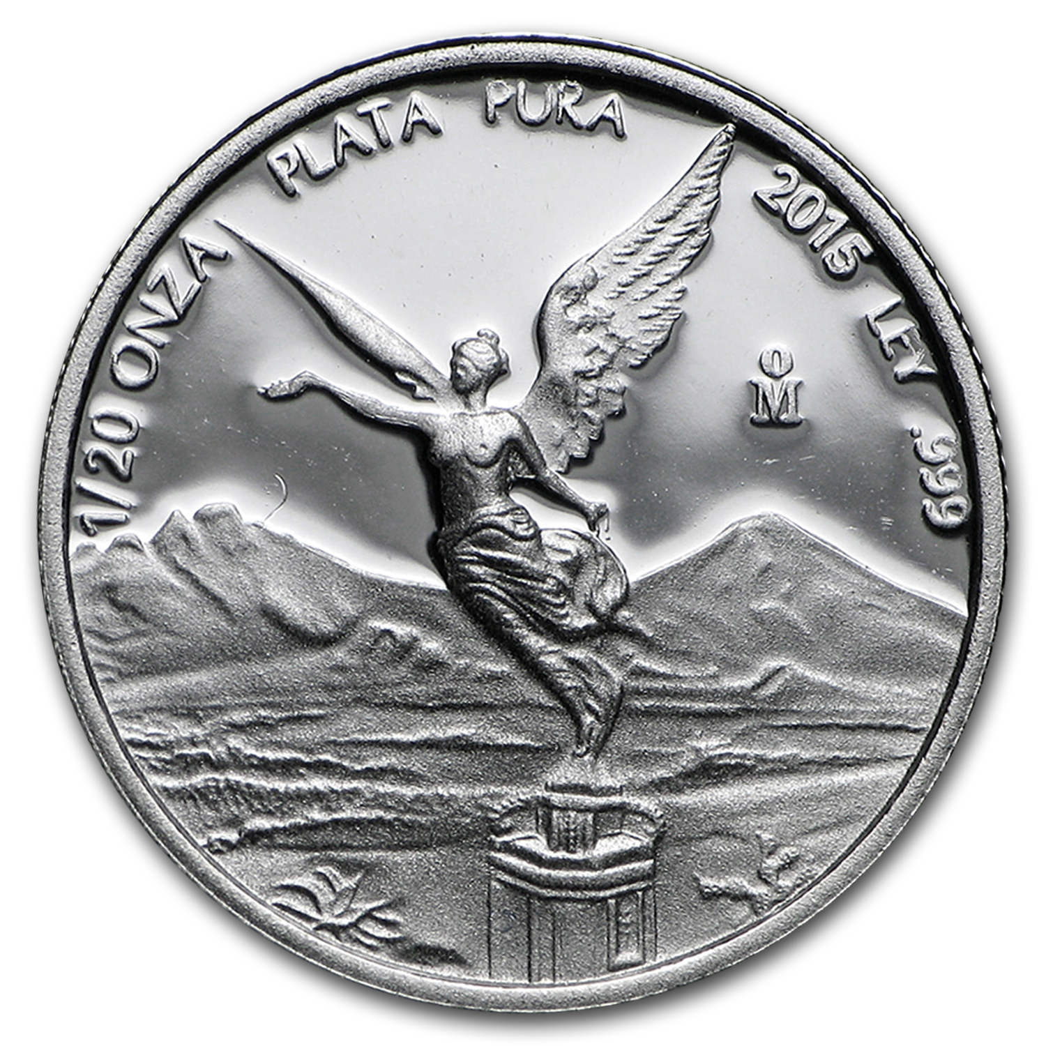 2015 Mexico 1/20 oz Silver Libertad Proof (In Capsule)