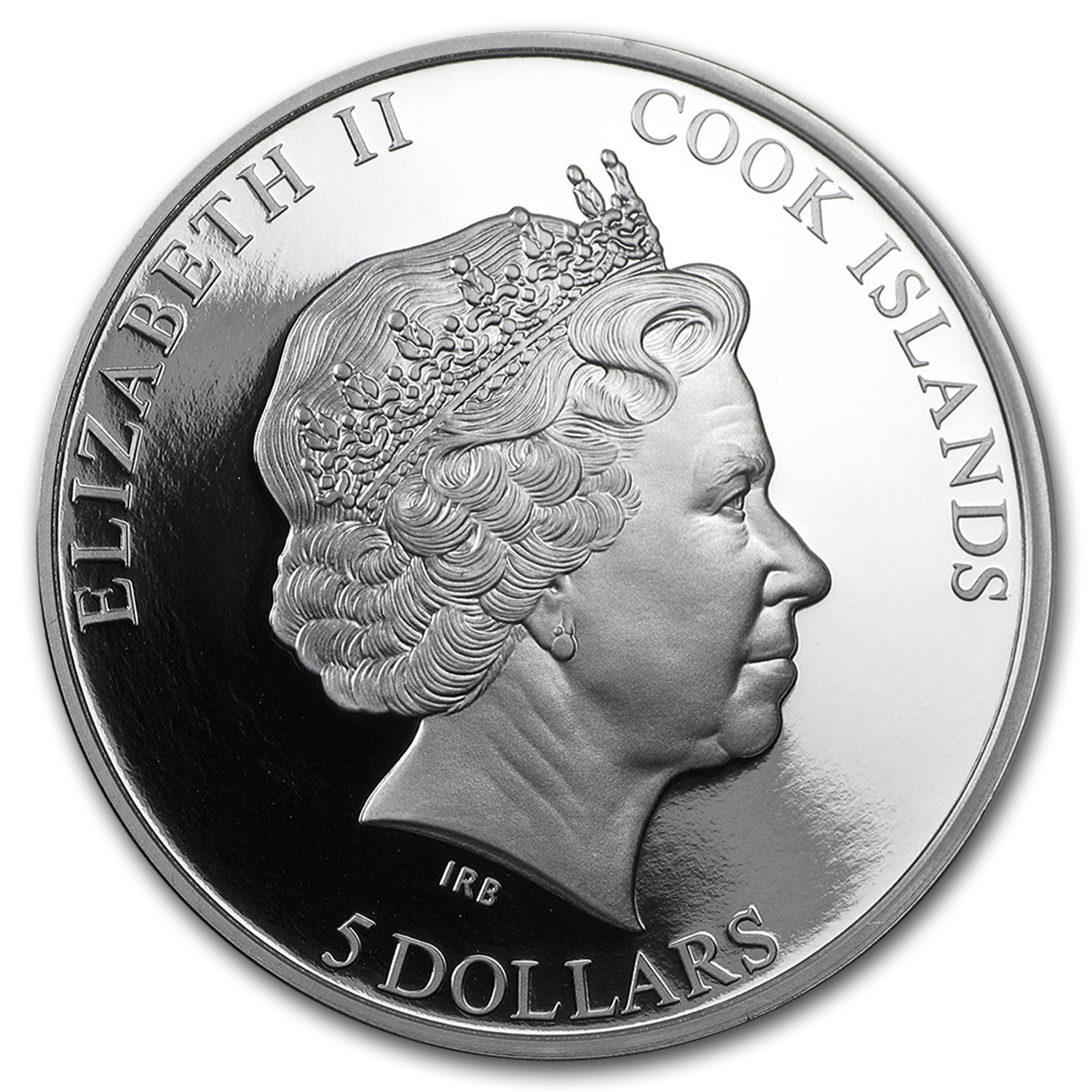 2015 Cook Islands 1 oz Silver Great Deserts (Judaean Desert)