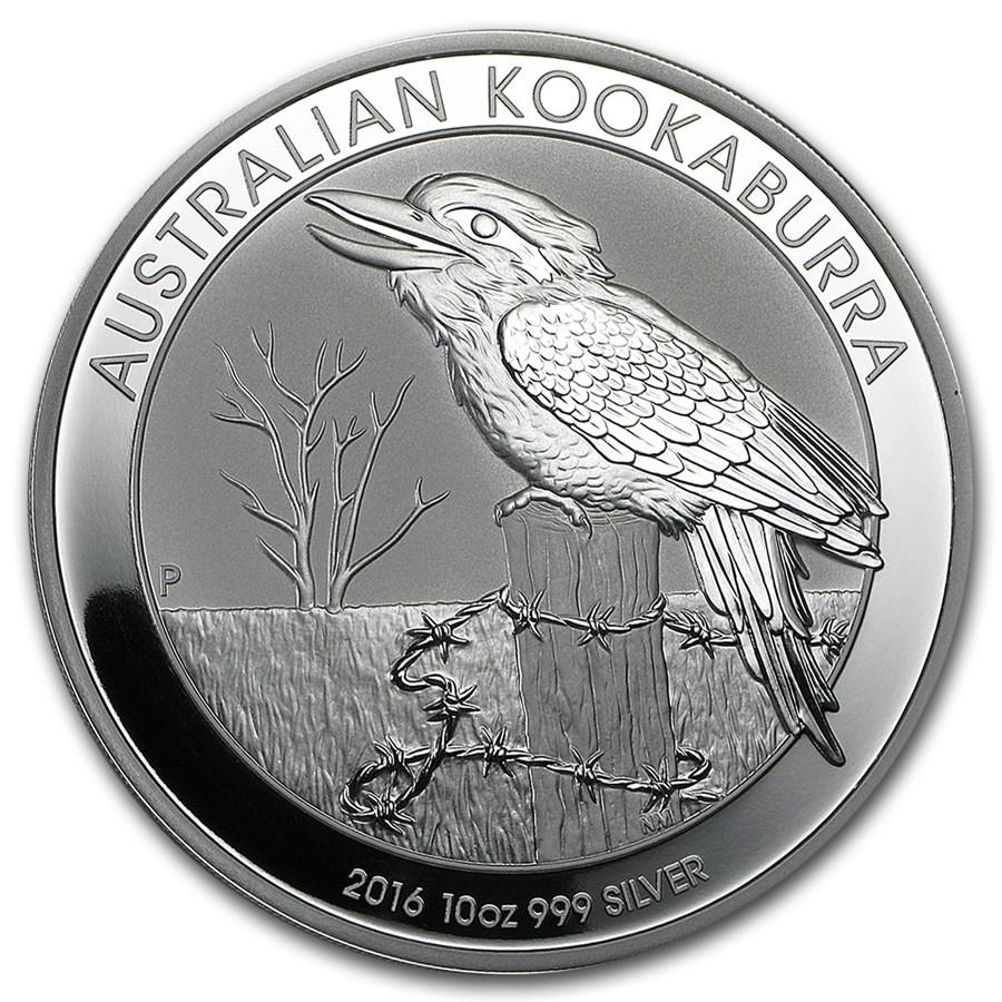 10 Oz Silver Kookaburra Coin For Sale Ten Ounce Silver
