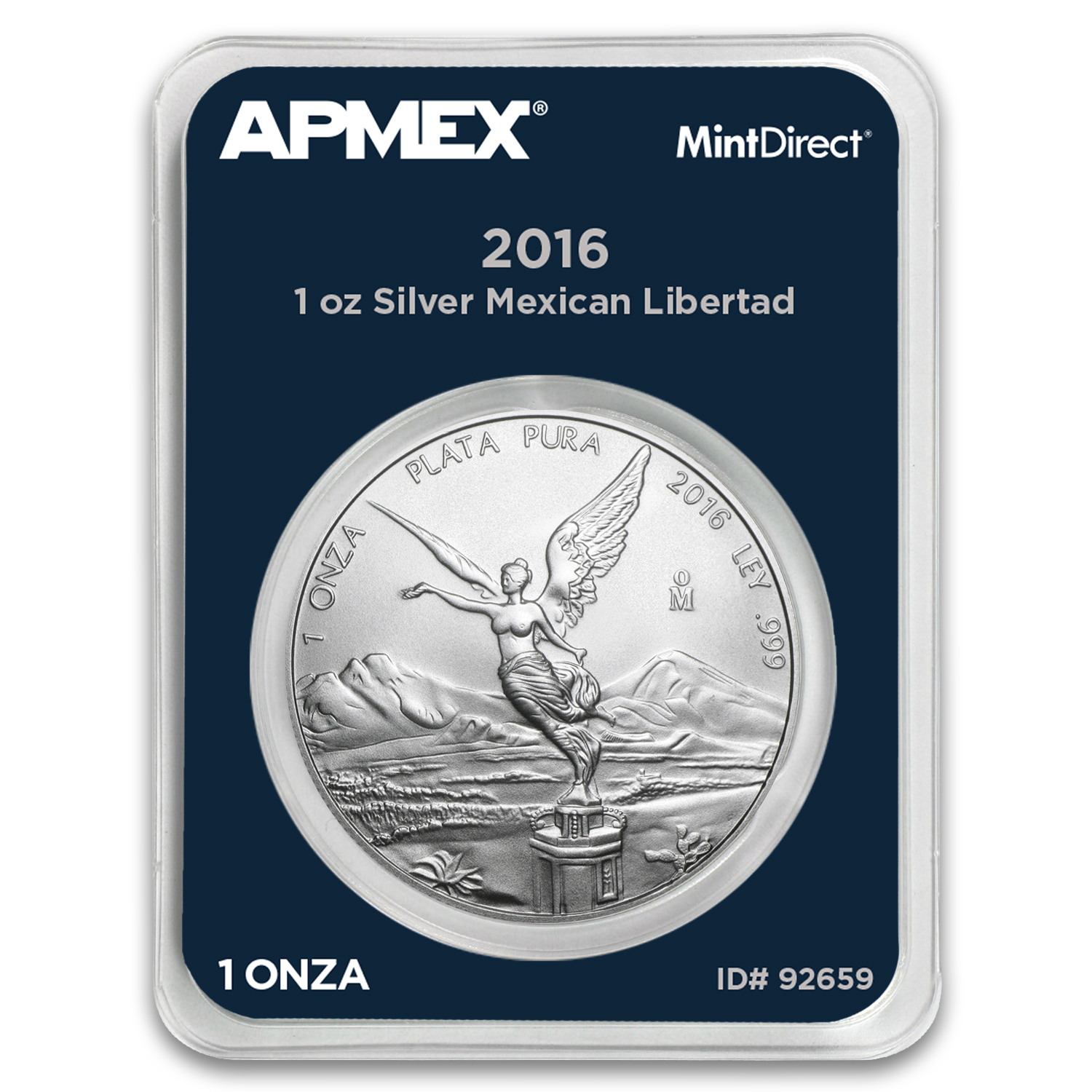 2016 Mexico 1 oz Silver Libertad (MintDirect® Single)
