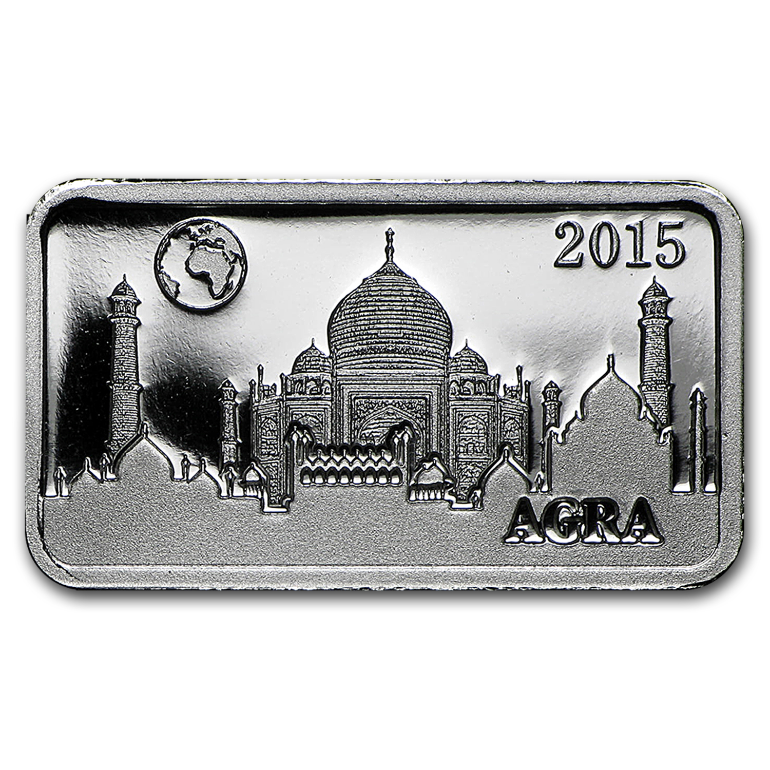 2015 Solomon Islands 2.5 gr Silver Landmarks of the World (Agra)