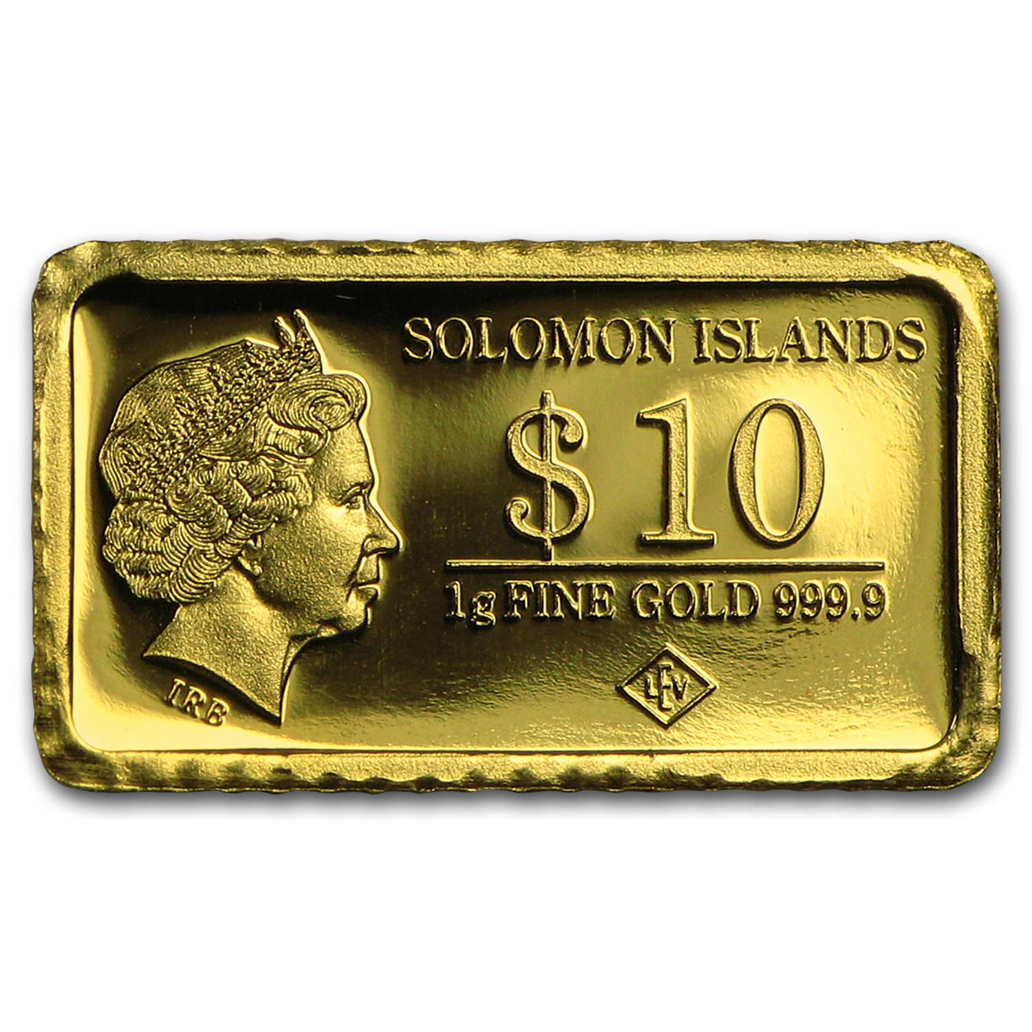 2015 Solomon Islands 1 gr Gold Landmarks of the World (Agra)