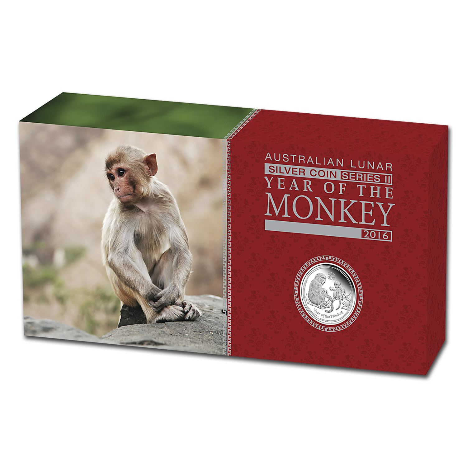 2016 Australia 3-Coin Silver Lunar Monkey Proof Set