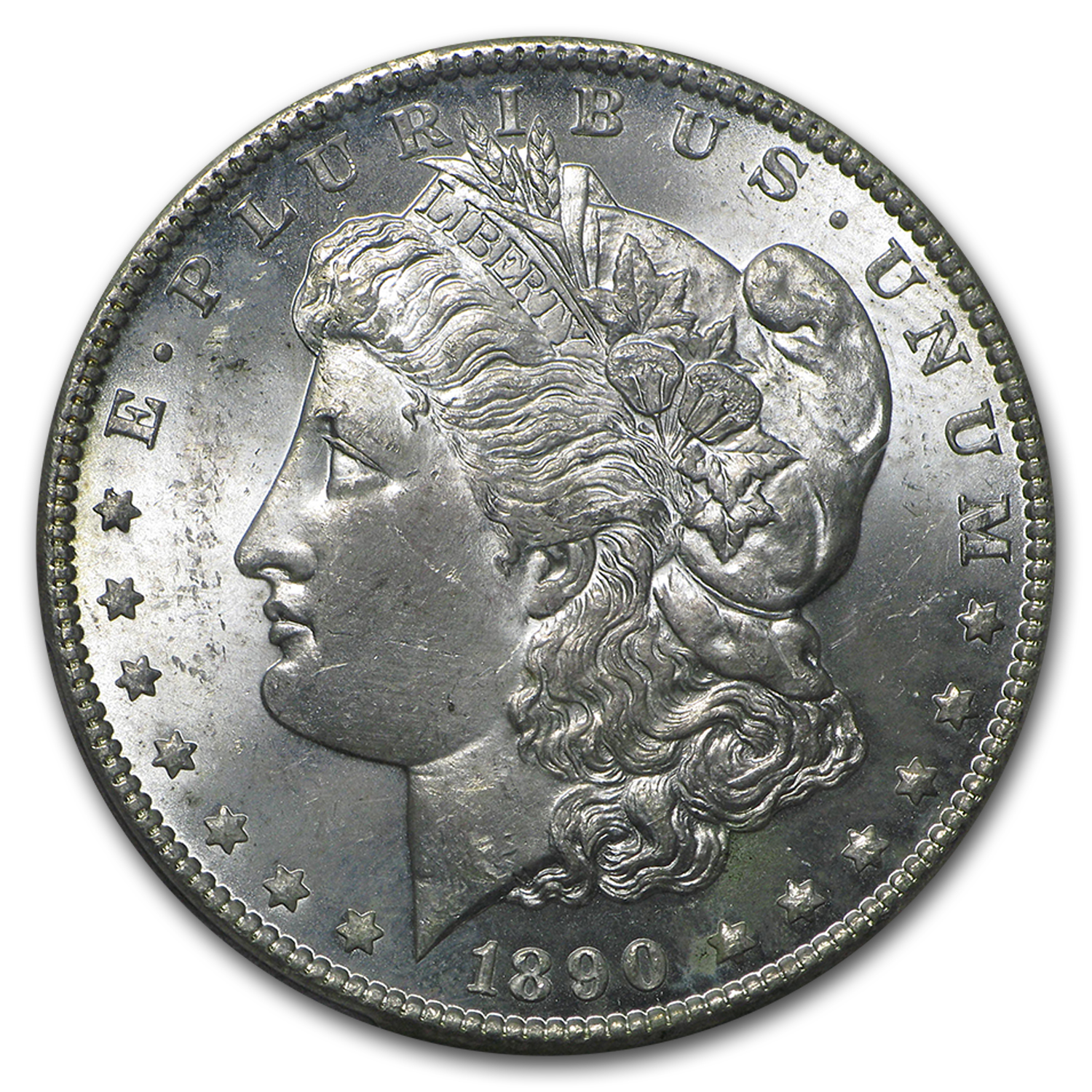 1890-CC Morgan Dollar MS-64 PCGS (Carson City Collection)