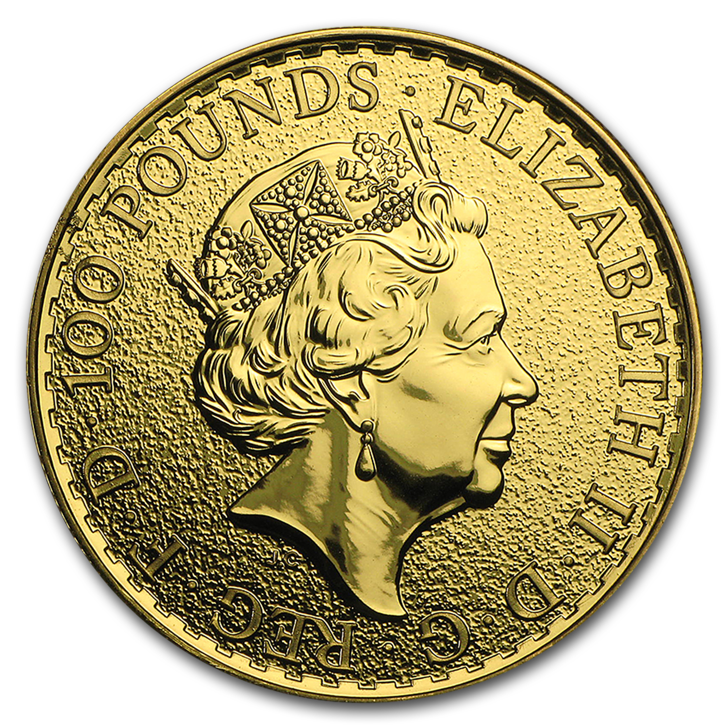 2016 Great Britain 1 oz Gold Britannia (10-Coin MintDirect® Tube)