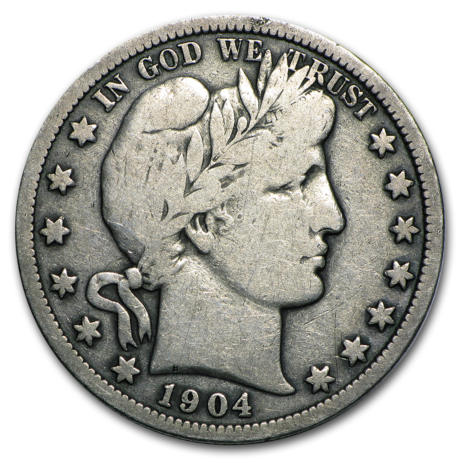 1904 S Barber Half Dollar Fine Value Of Silver