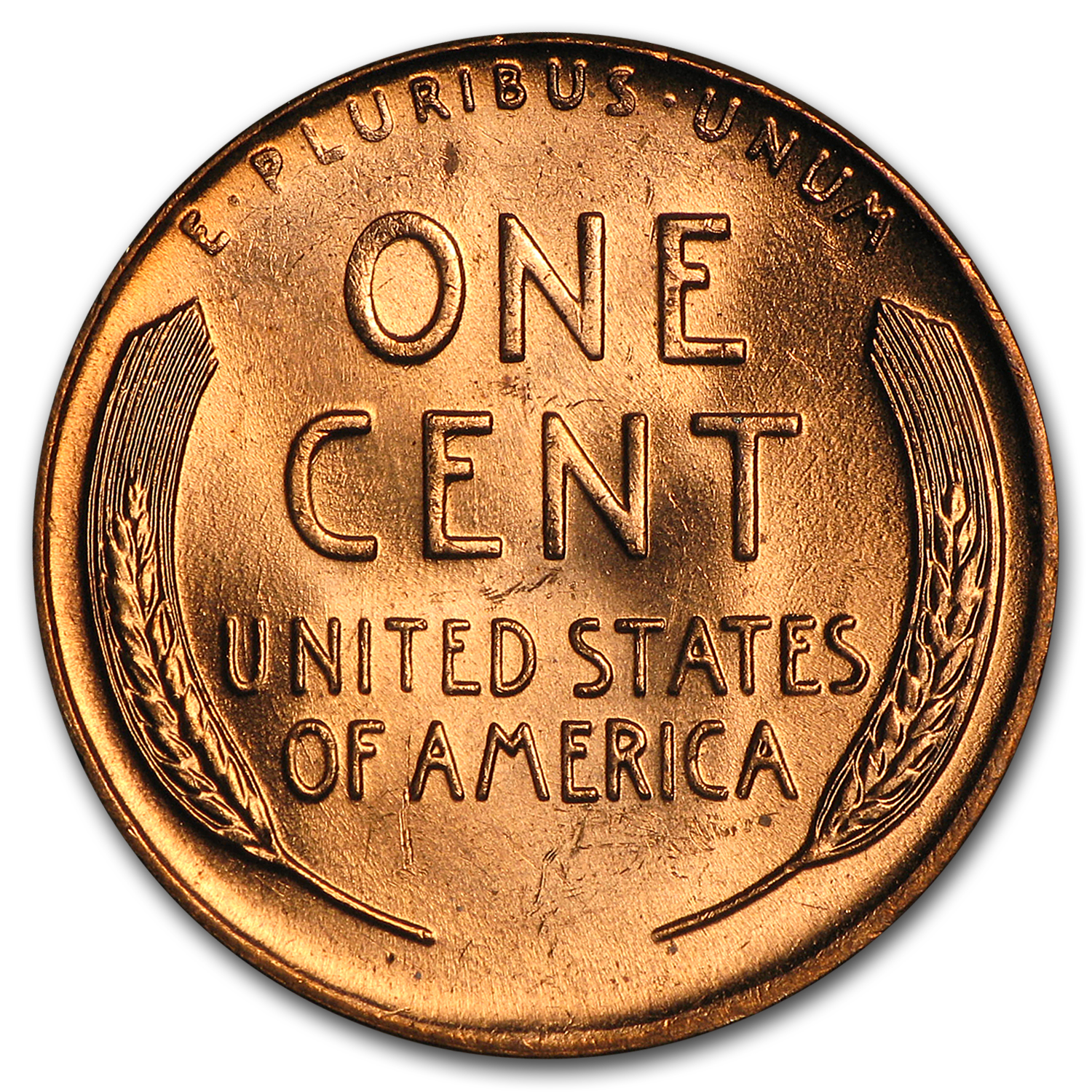 1958-D Lincoln Cent 50-Coin Roll BU