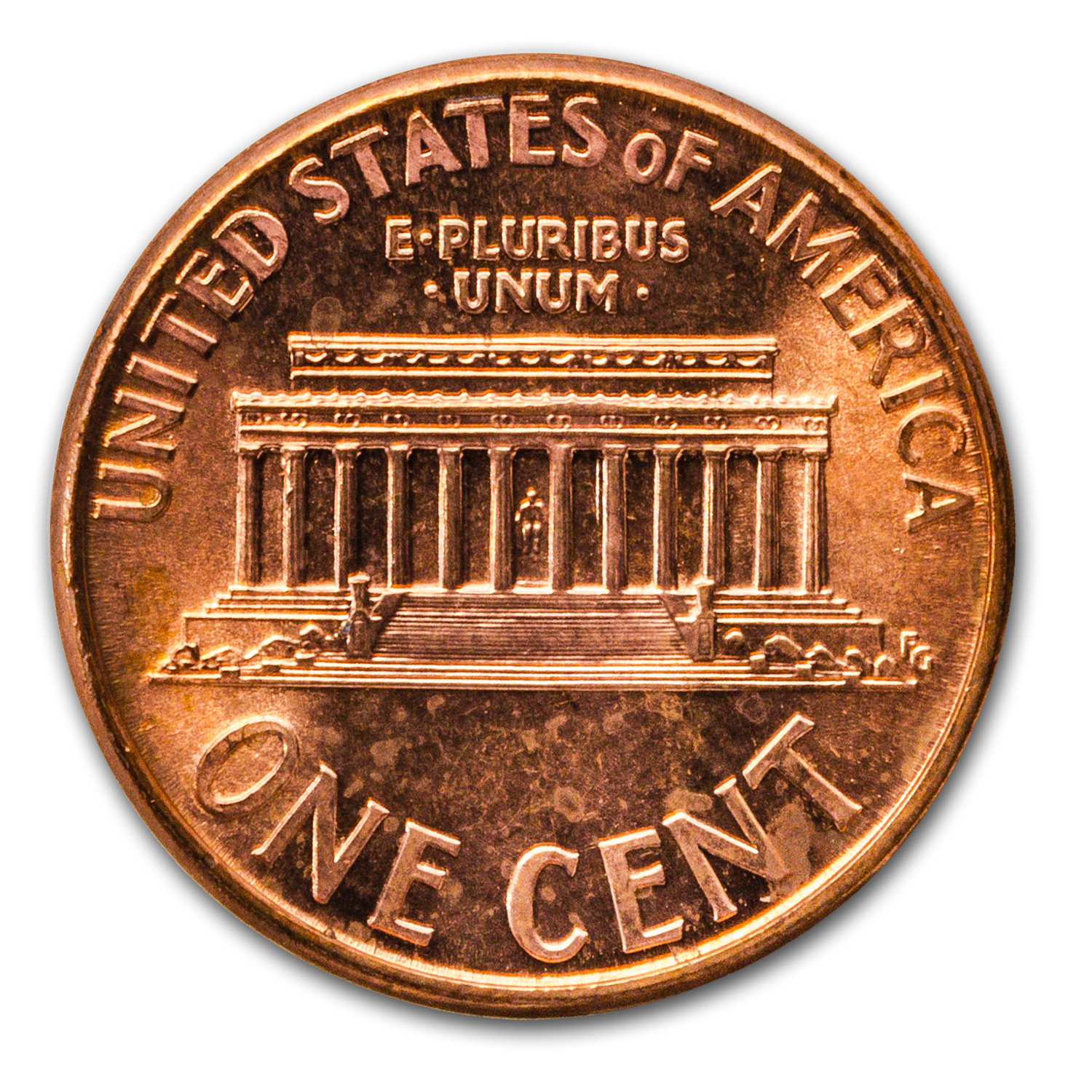 1961 D Lincoln Memorial Cent Roll 50ct Brilliant