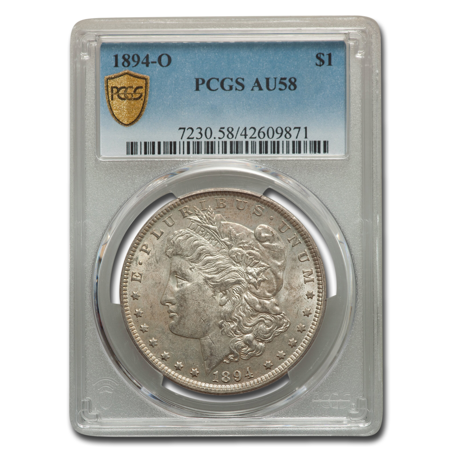1894-O Morgan Dollar AU-58 PCGS