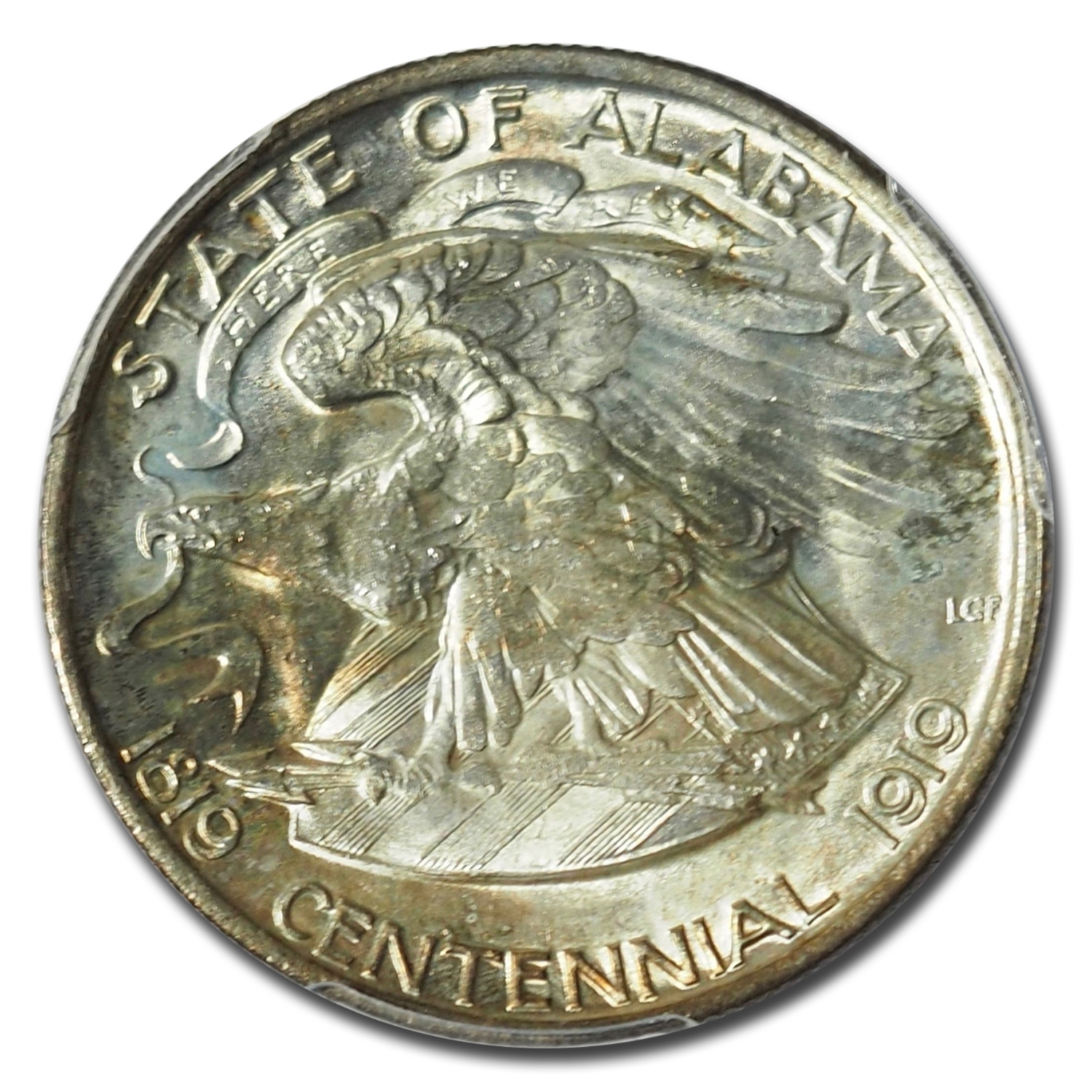 1921 Alabama Centennial Commemorative Half MS-65 PCGS