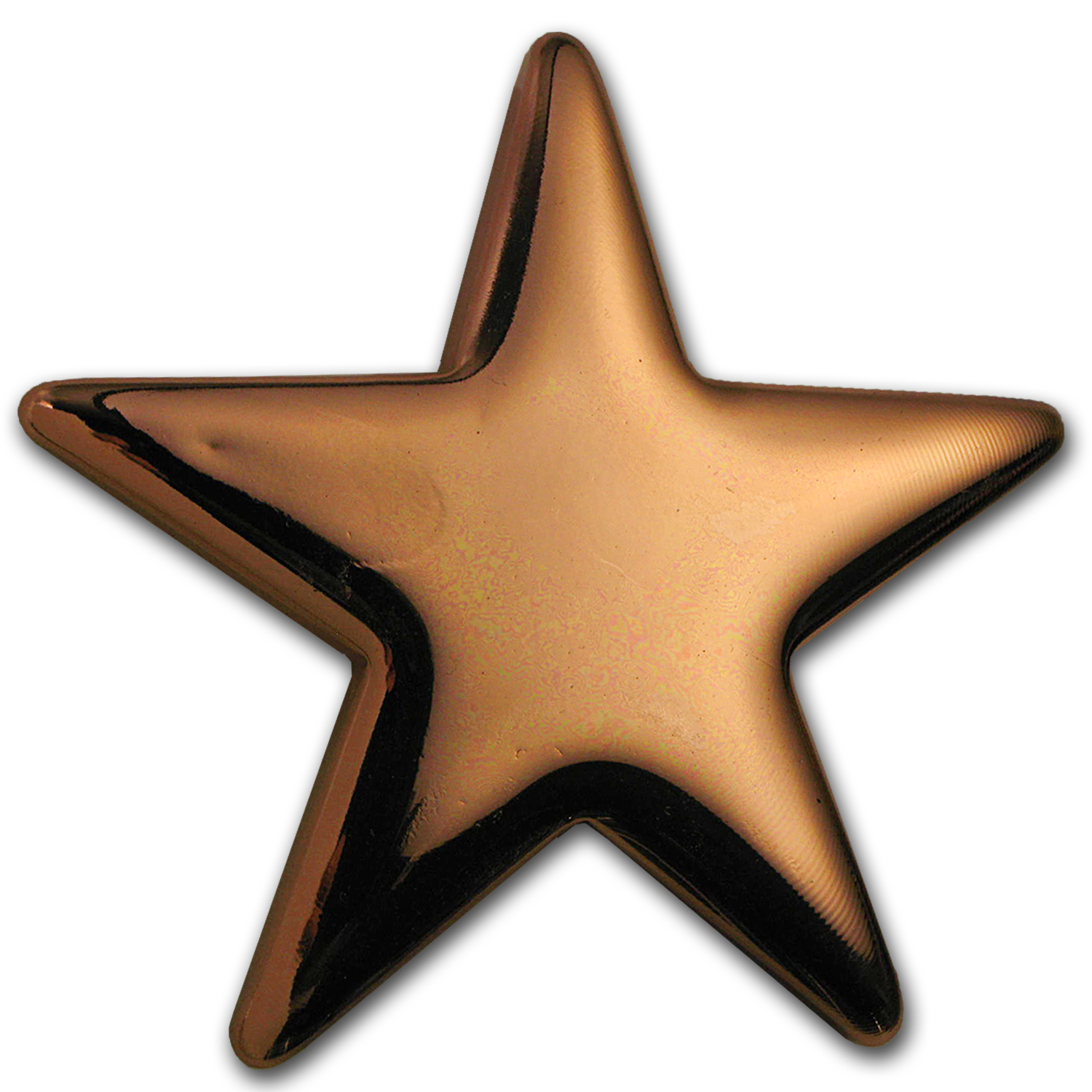 500 gram Copper Star Bar - Geiger Edelmetalle
