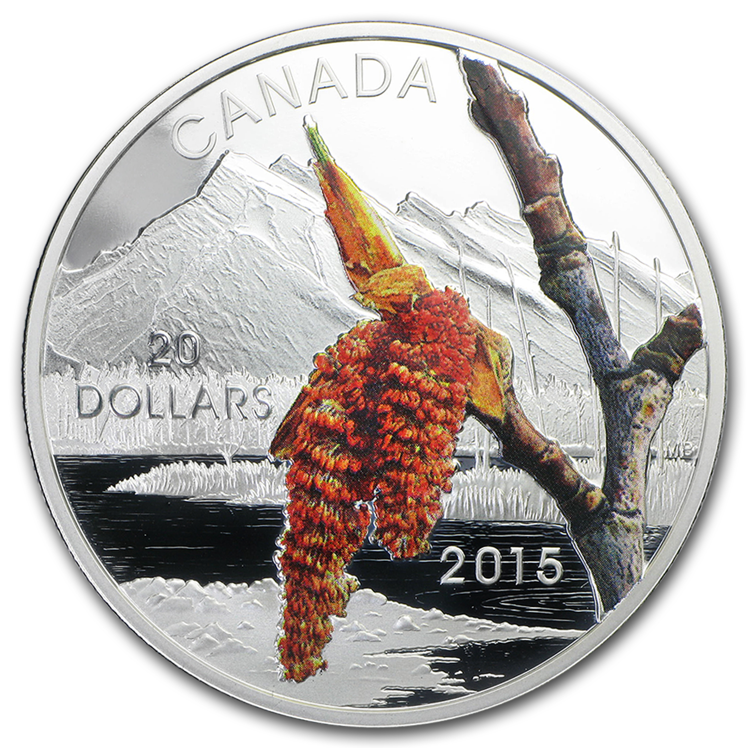2015 Canada Silver Forests of Canada Boreal Balsam Poplar