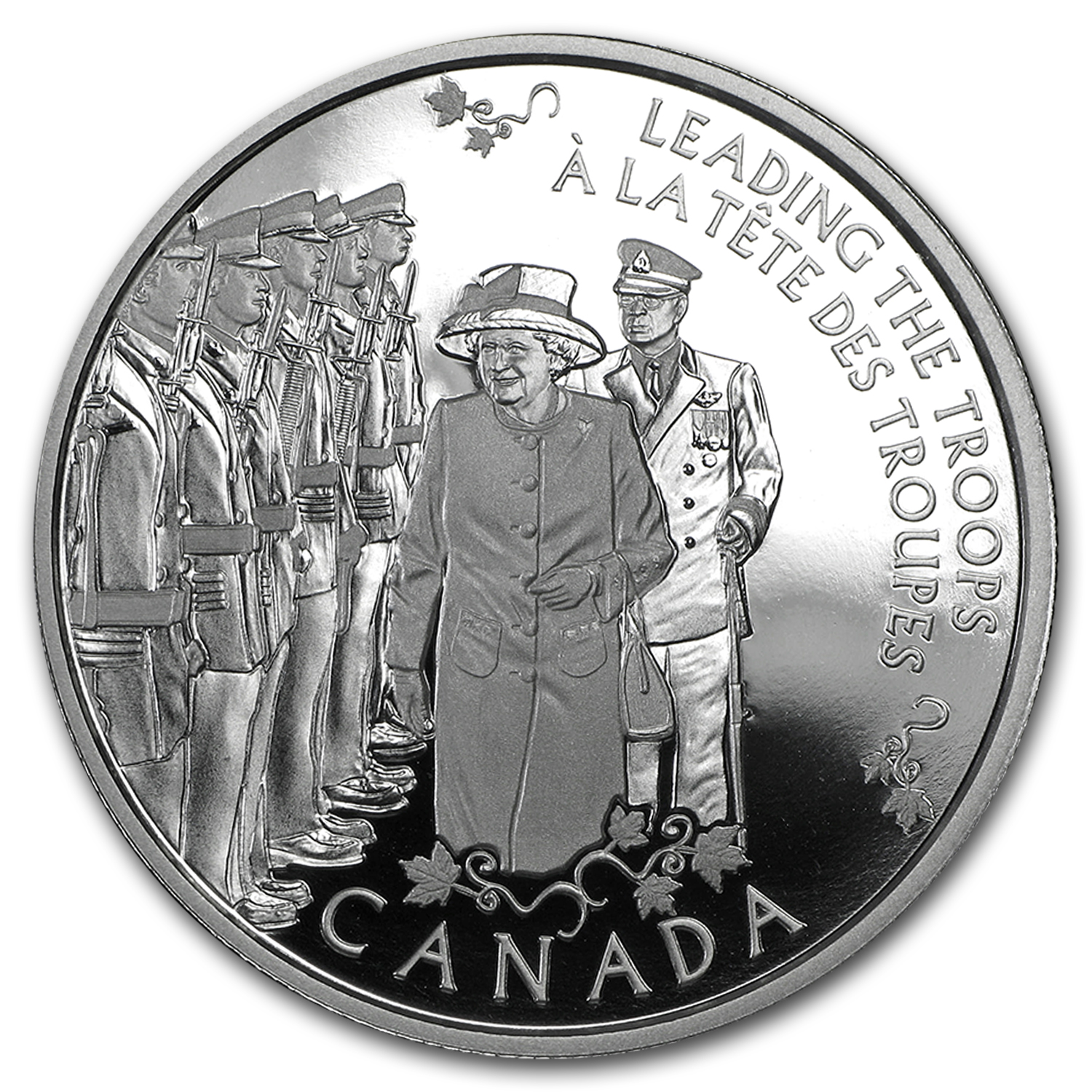 2015 Canada Silver $5 Today's Monarch, Yesteryear's Princess