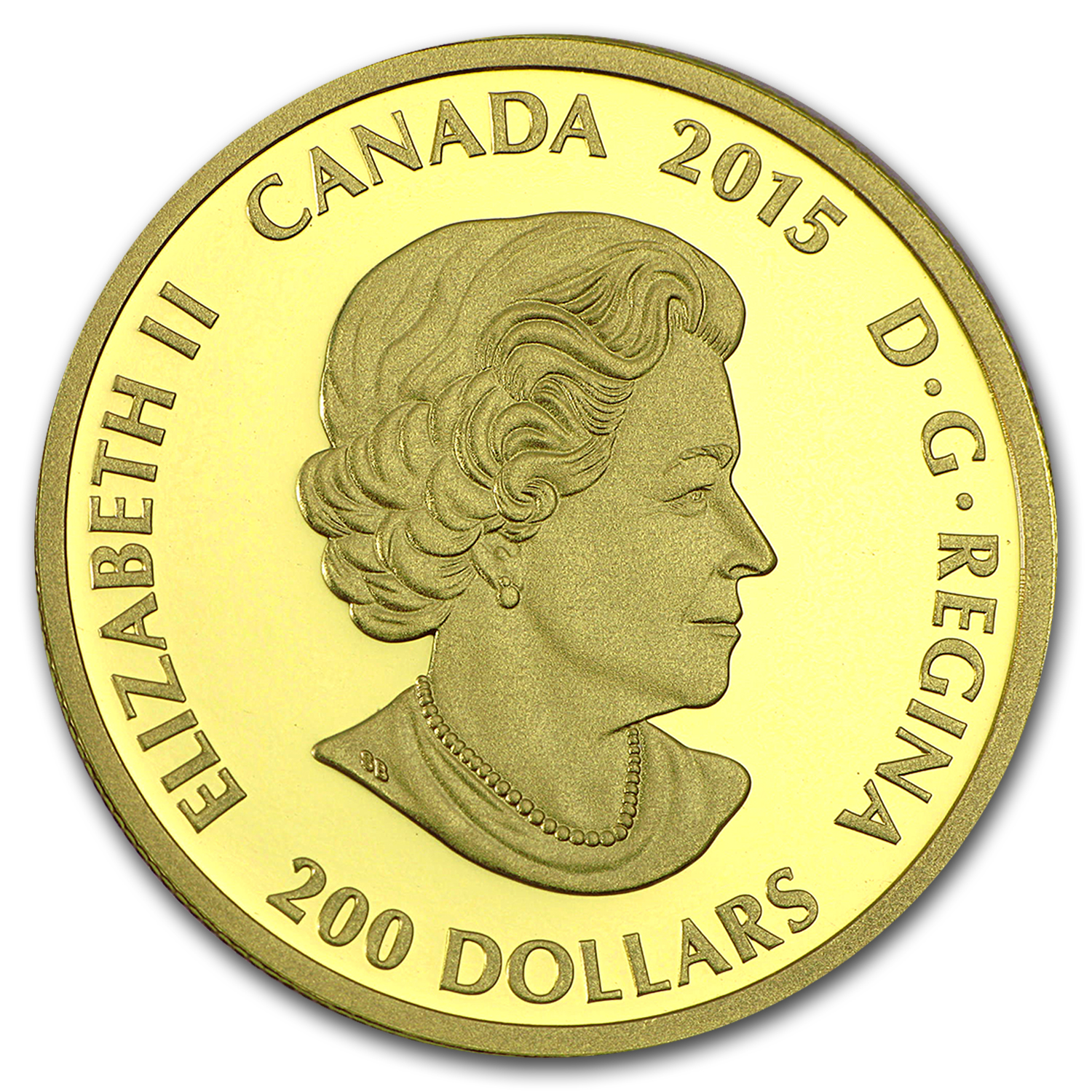 2015 Canada 1 oz Proof Gold $200 Diwali Festival of Lights