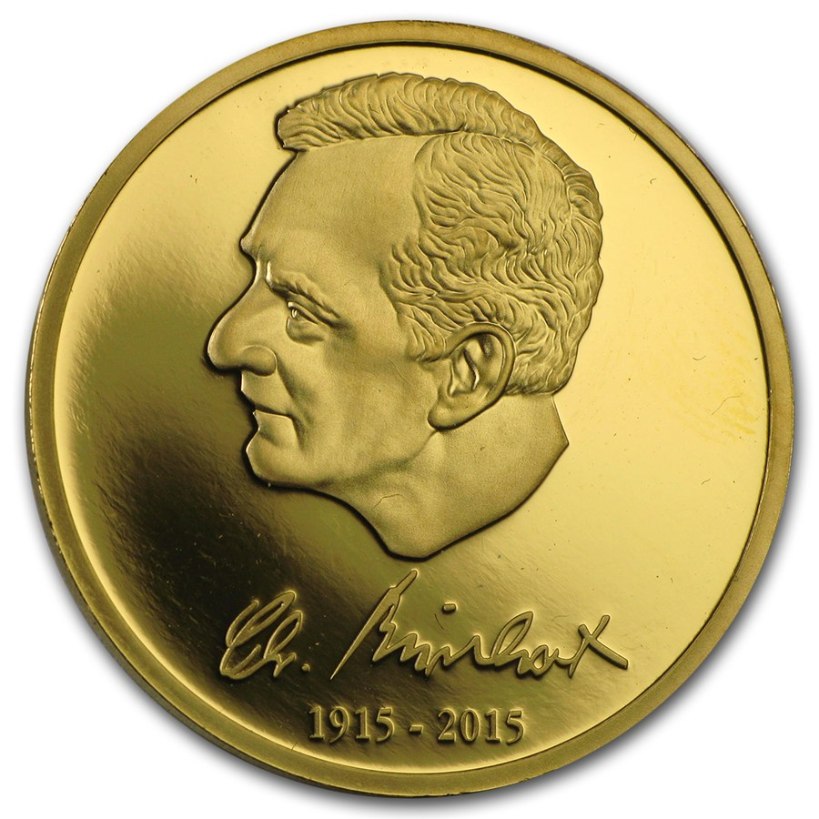 2015 Germany 12 g Gold Medal Burkert - Gold Bullion