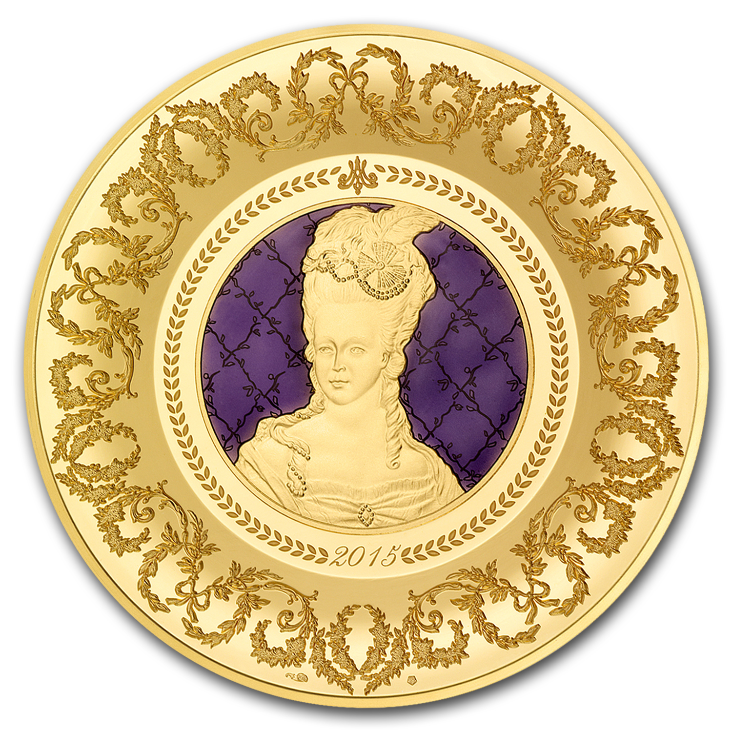 2015 5 oz Proof Gold €500 Excellence Series