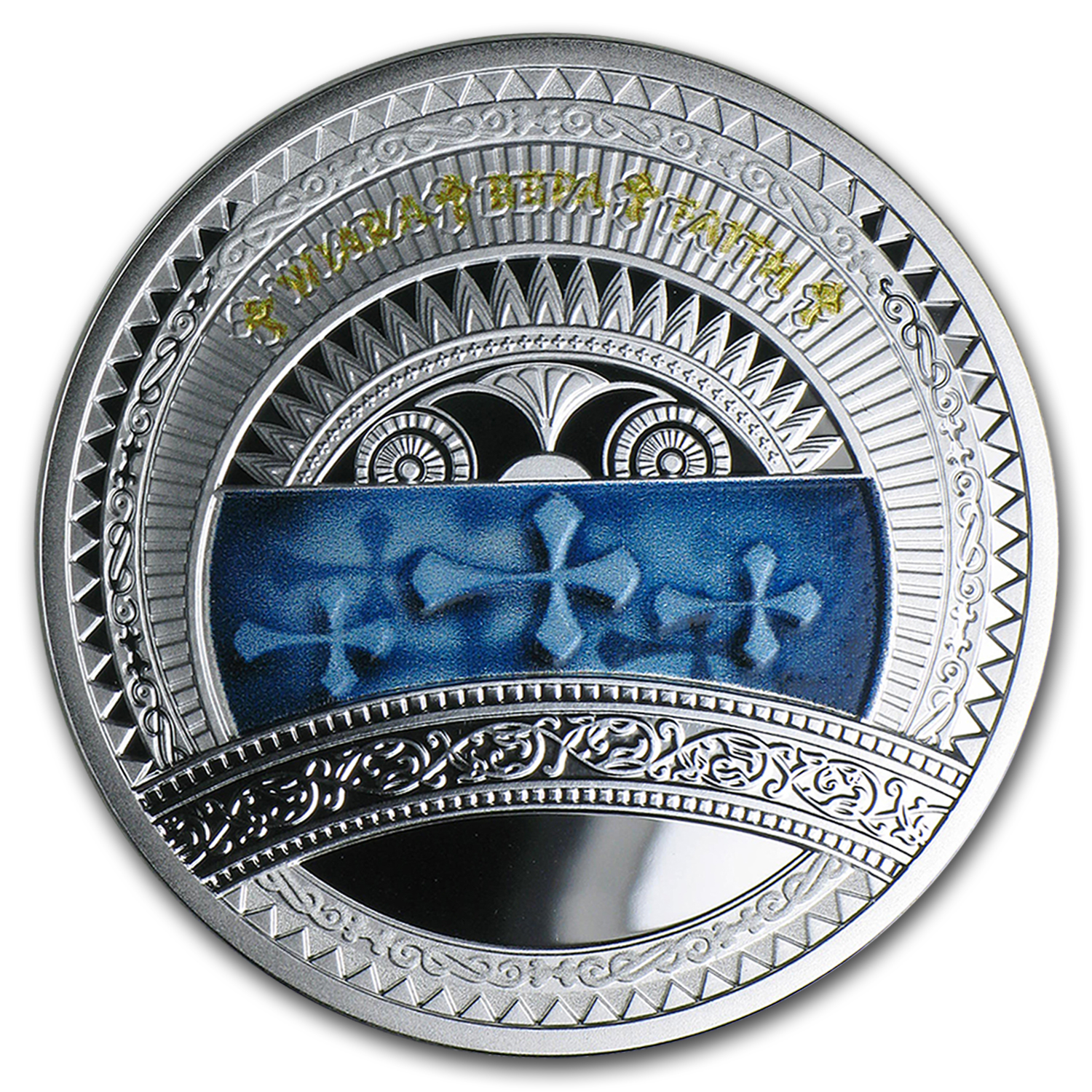 2015 Niue Silver The World of Your Soul (Faith)