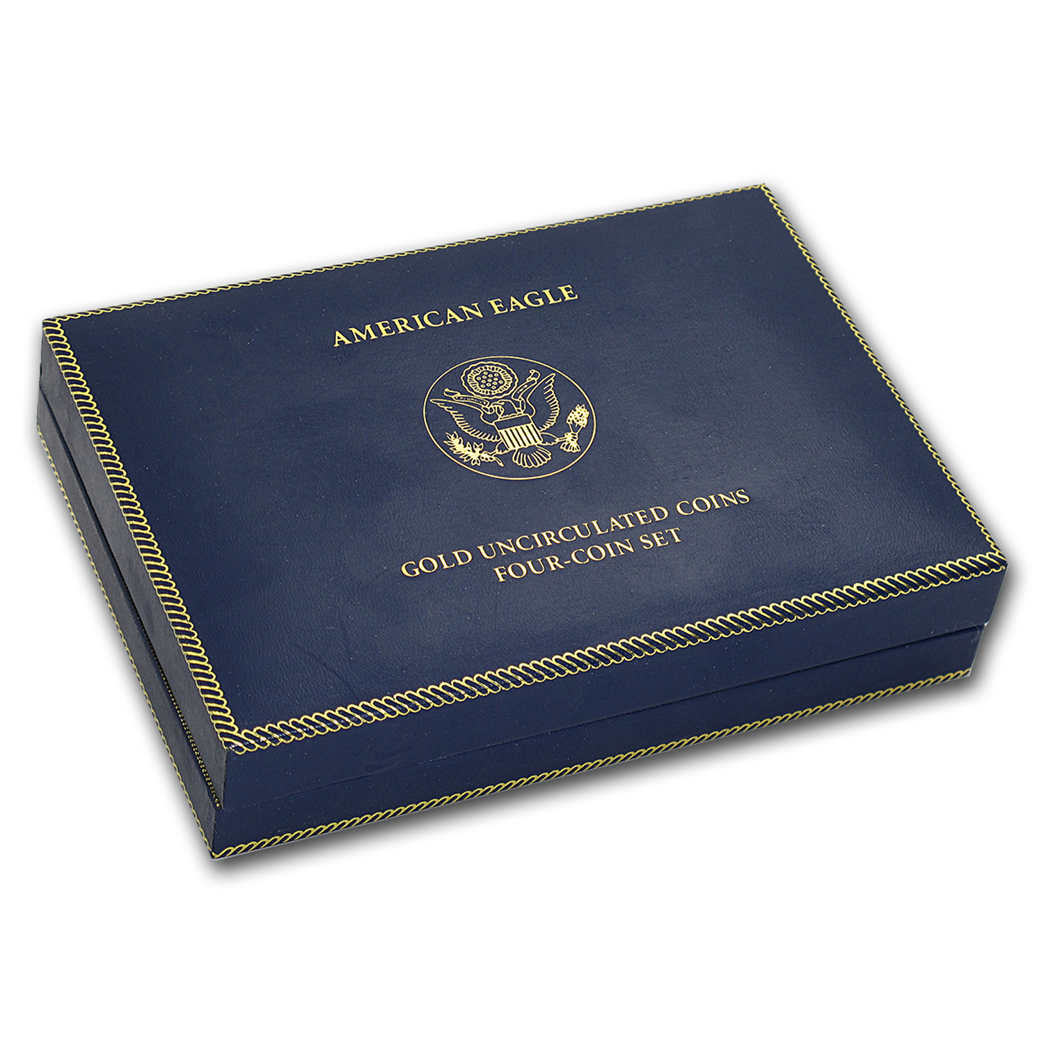 OGP Box & COA - 2006 (W) 4-Coin Burnished Gold American Eagle Set