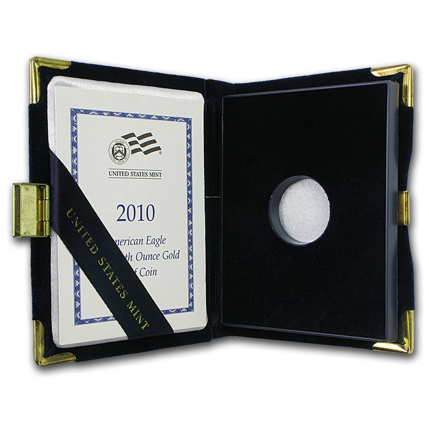 OEM Box & COA - 2010-W Proof 1/10 oz Gold Eagle