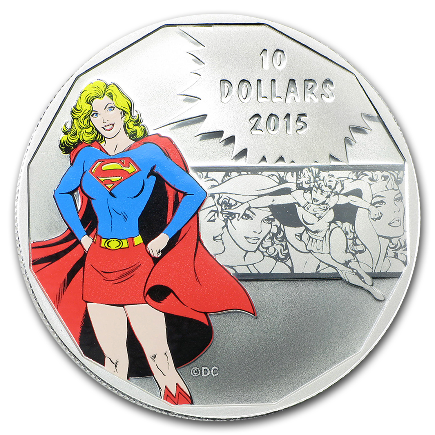 2015 Canada 1/2 oz Silver $10 DC Comics Originals: Strength