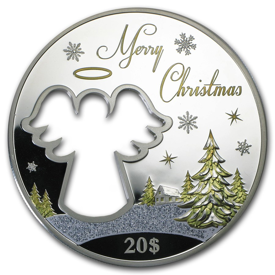 2015 Christmas Coins Merry Christmas Silver Coin For Sale