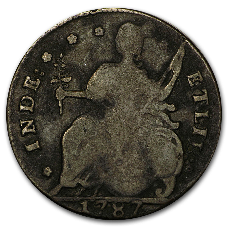 1787 Connecticut Copper Cent