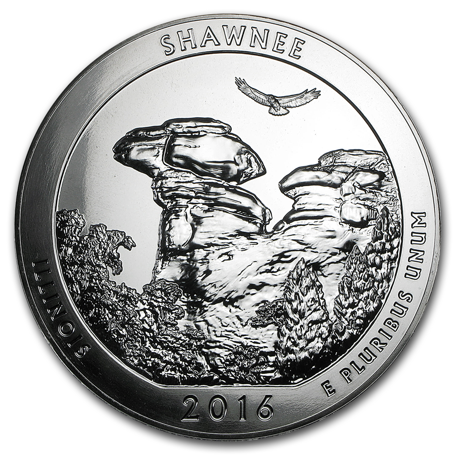 2016 5 oz Silver ATB Shawnee National Forest, IL