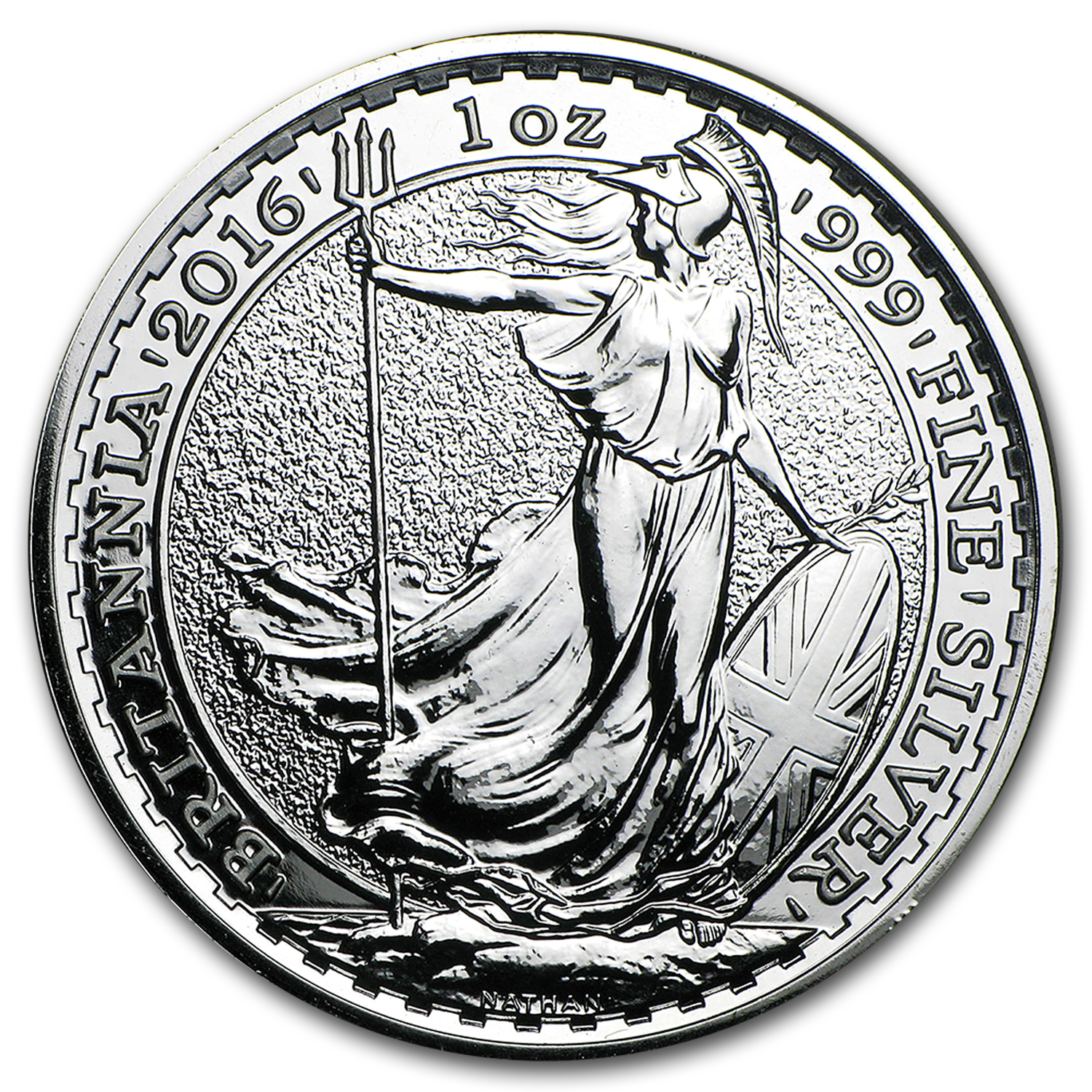 2016 Great Britain 1 oz Silver Britannia BU