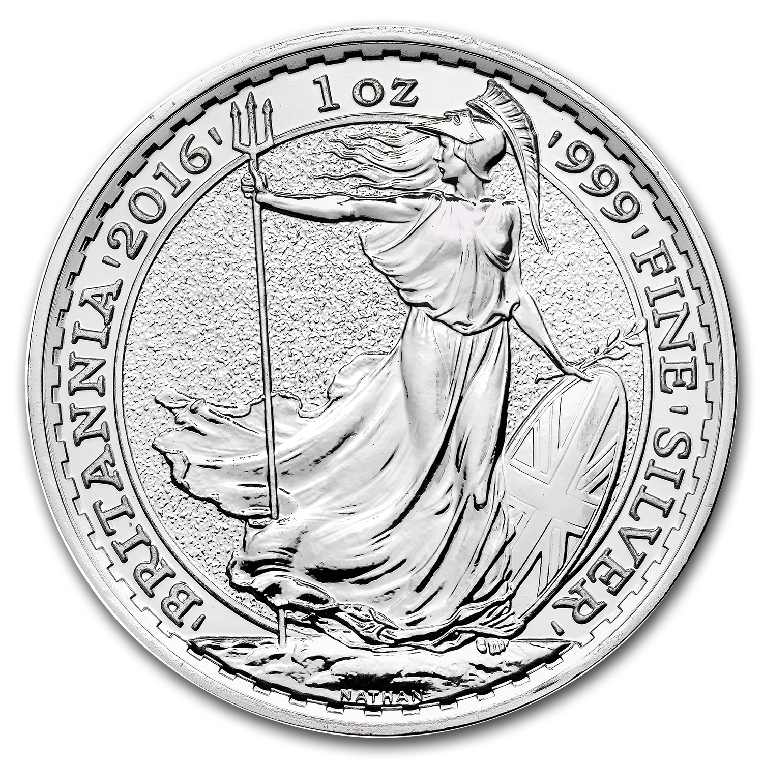 2016 500-Coin 1 oz Silver Britannia Monster Box BU