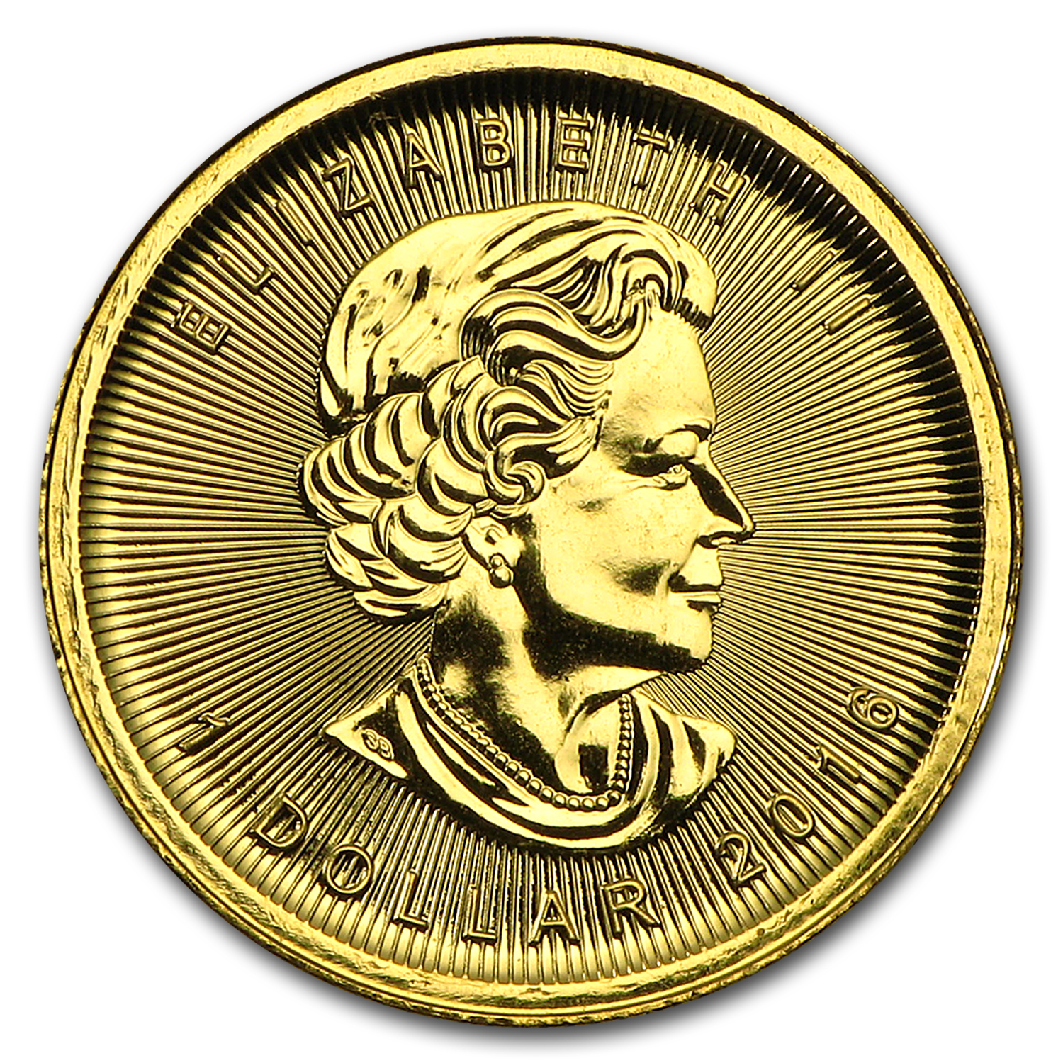 2016 Canada 1/20 oz Gold Maple Leaf BU