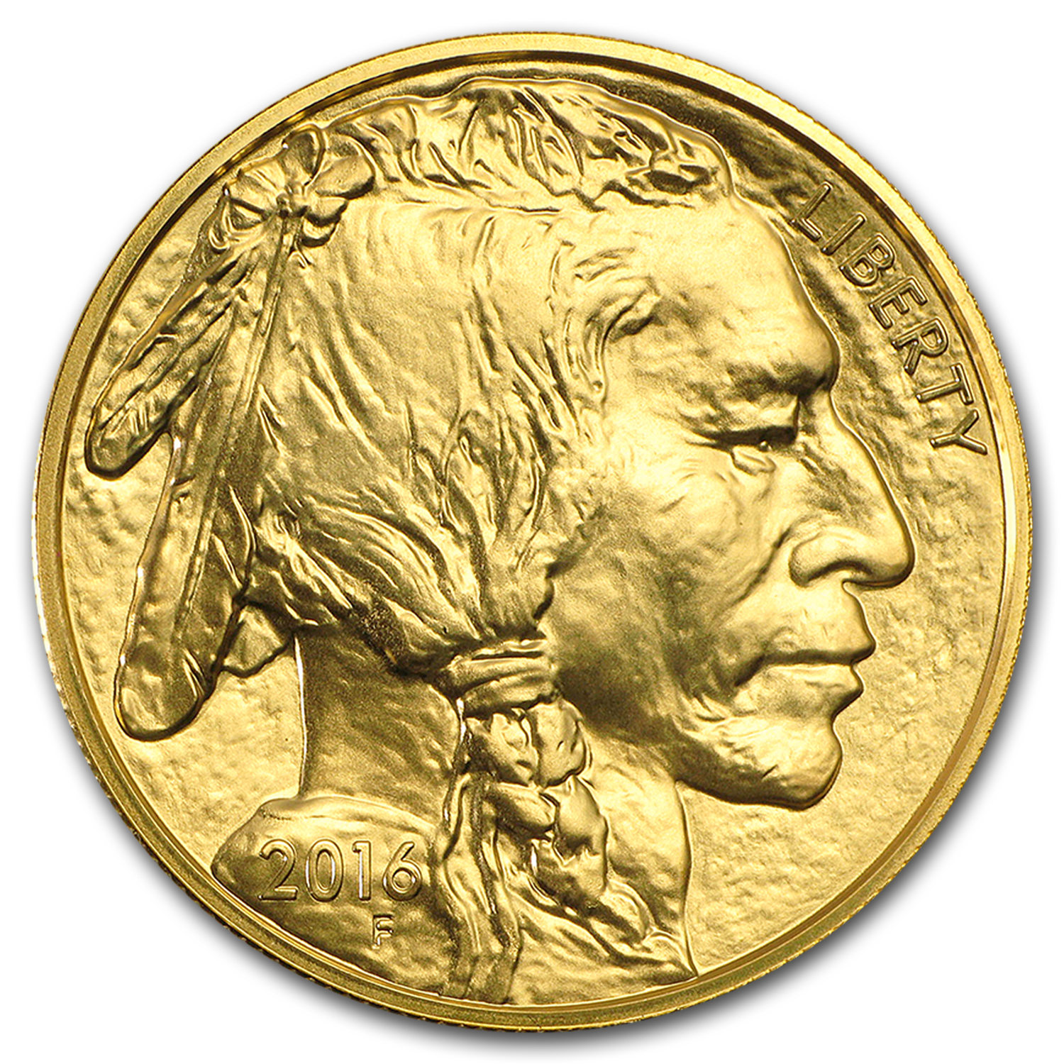 2016 1 oz Gold Buffalo BU
