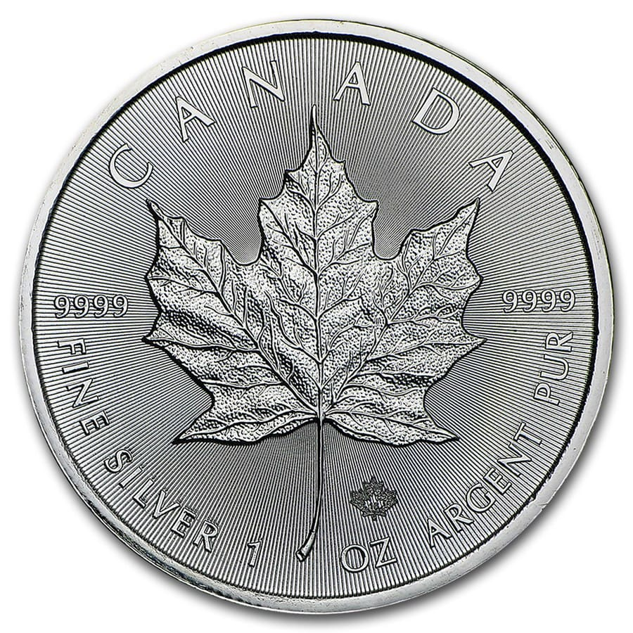 2016 Canada 1 oz Silver Maple Leaf BU