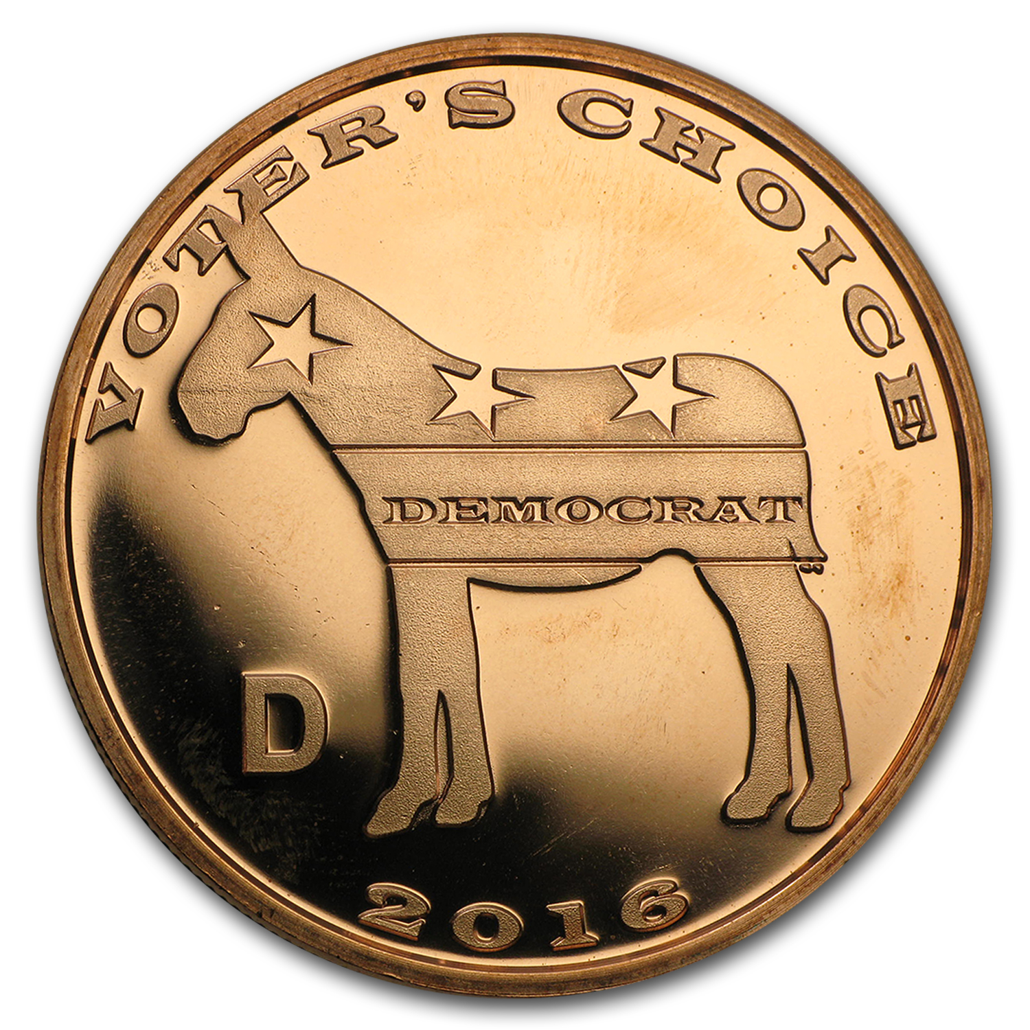 1 oz Copper Round - Voter's Choice