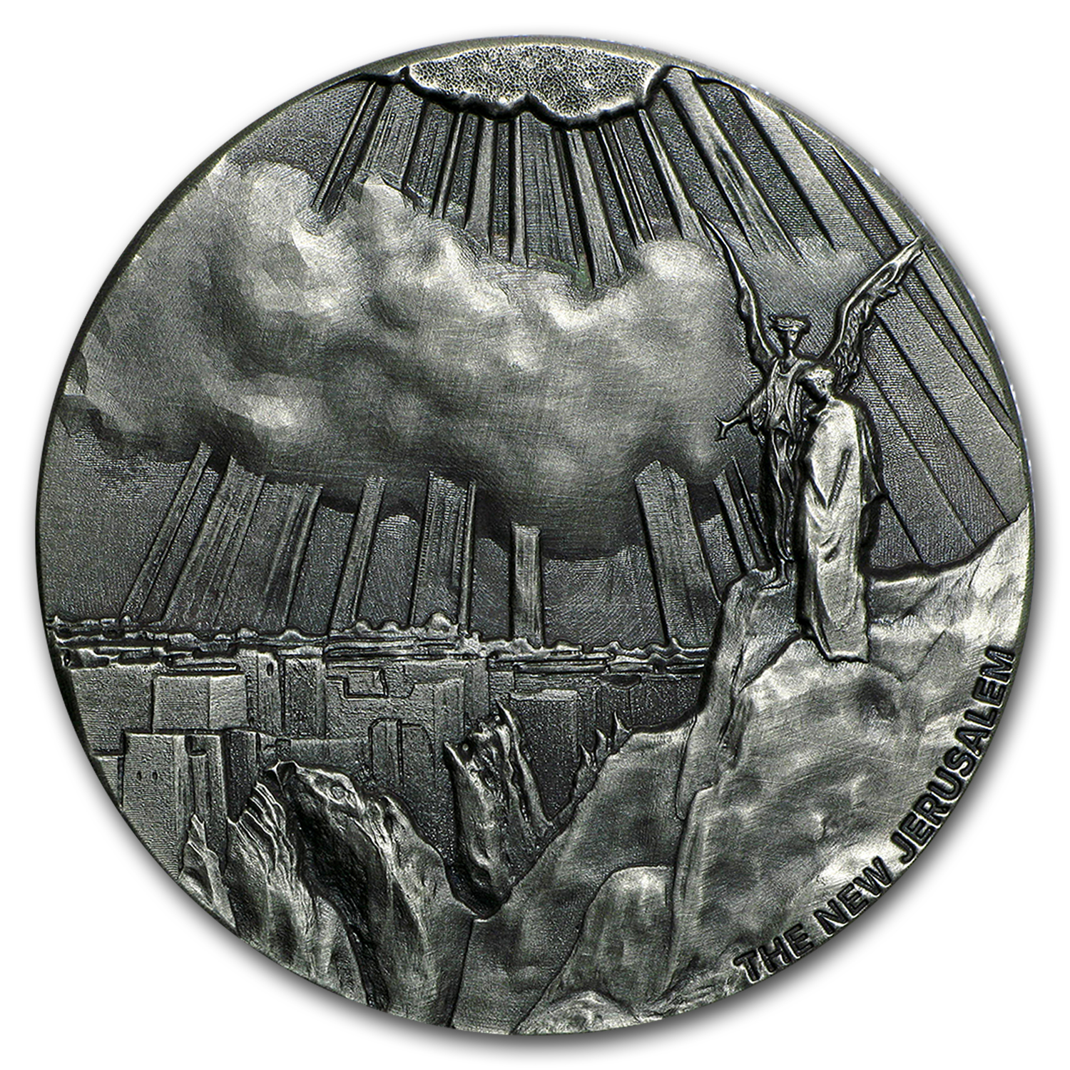 2015 2 oz Silver Coin - Biblical Series (New Jerusalem)