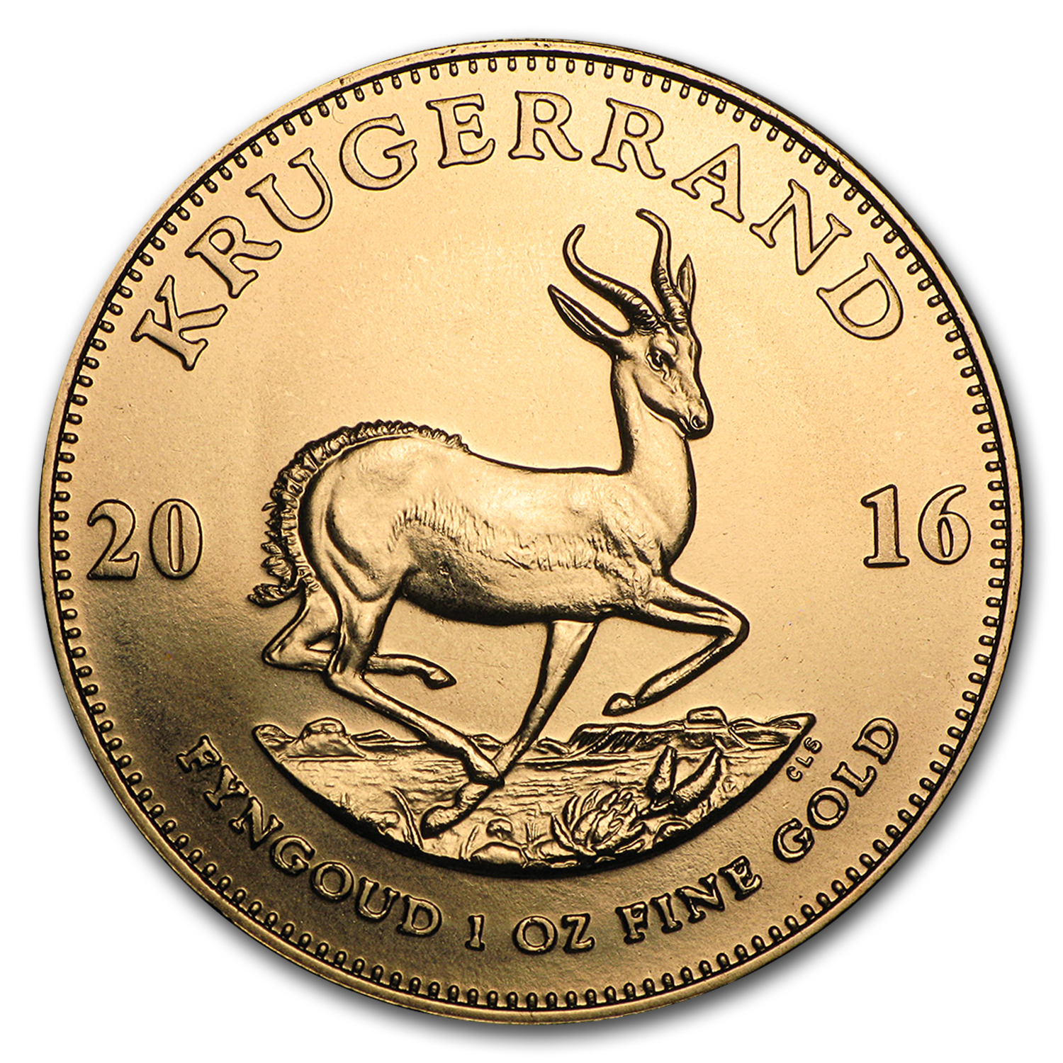 2016 South Africa 1 oz Gold Krugerrand BU