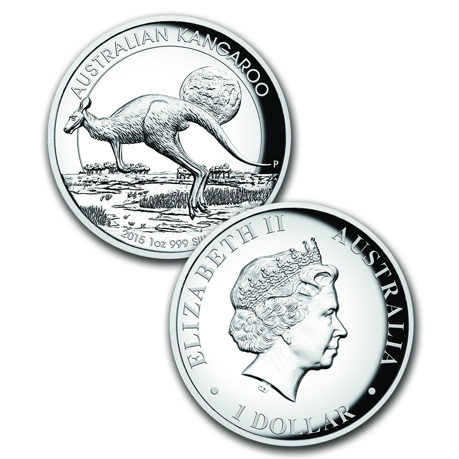 2015 Australia 3-Coin 1 oz Silver High Relief Proof Set