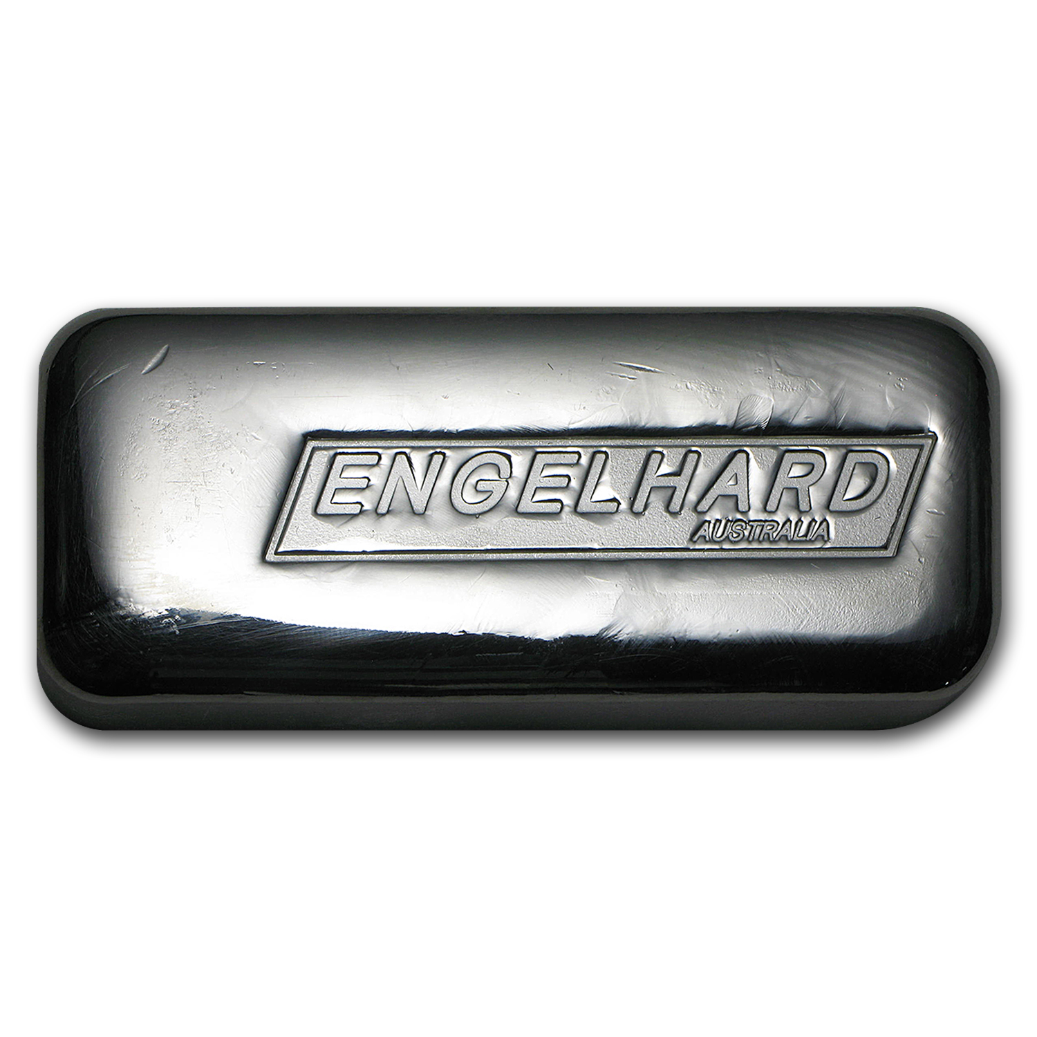 10 oz Silver Bar - Engelhard-Australia (New, Cast)