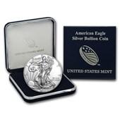 2016 1 oz Silver American Eagle BU (w/U.S. Mint Box)