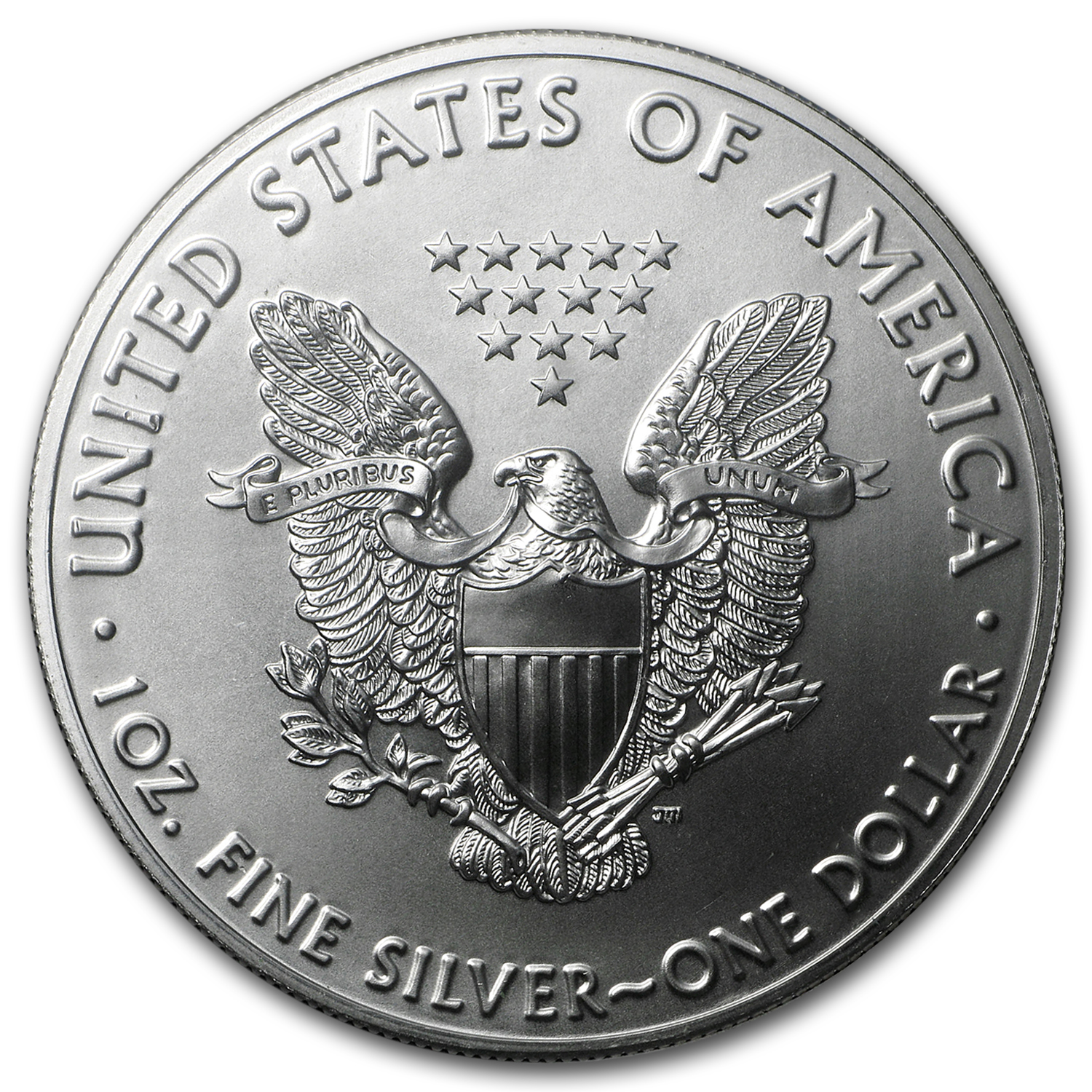 2016 1 oz Silver American Eagle BU (From Santa, Harris Holder)