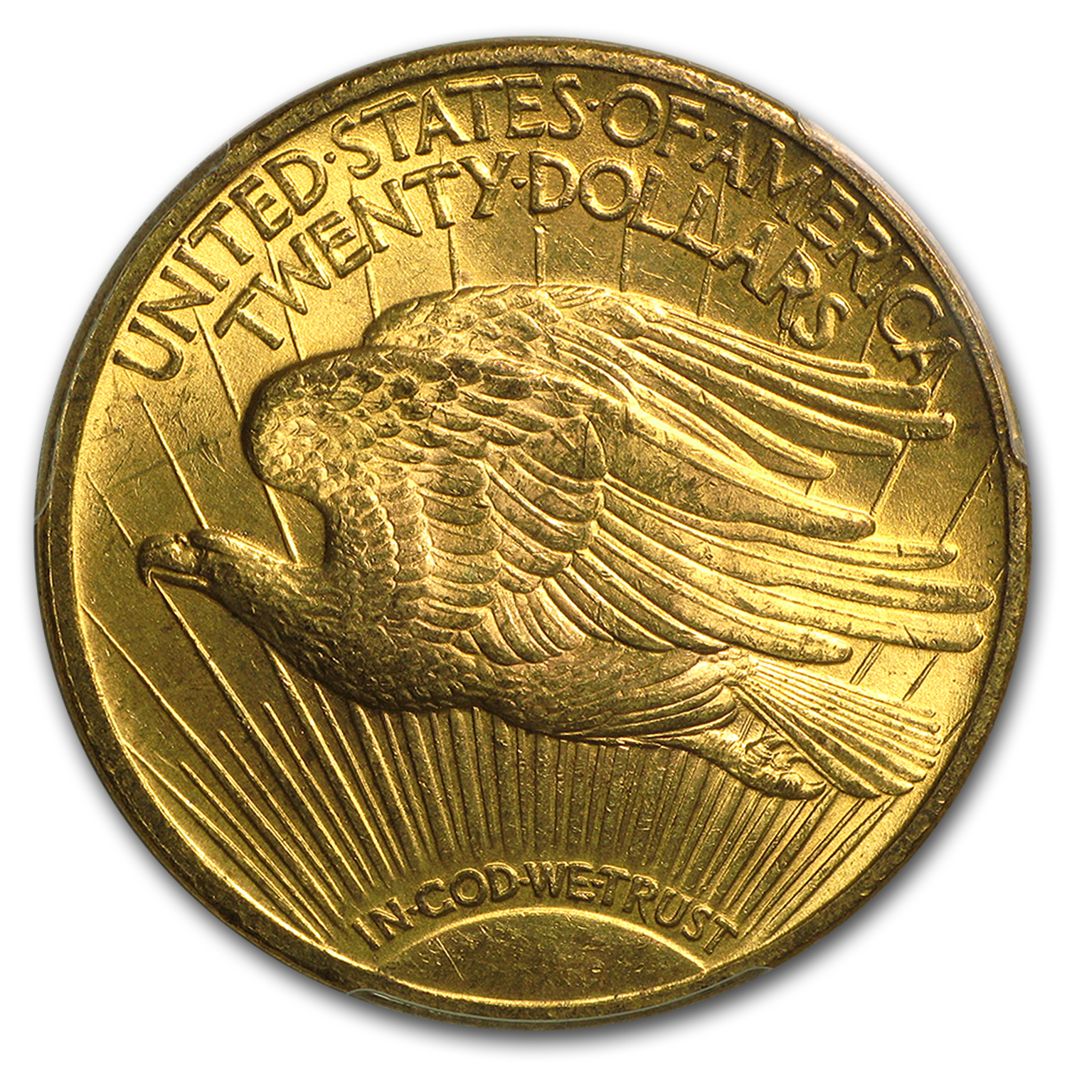 1922 $20 St. Gaudens Gold Double Eagle MS-63 PCGS (DDR FS-801)