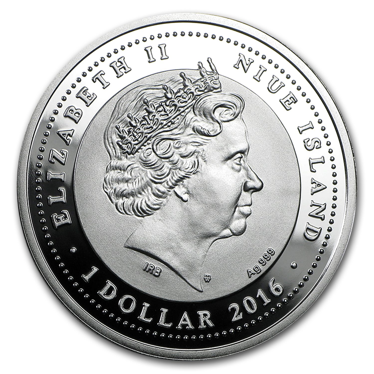 2015 Niue Silver SOS For The World They are Gone! (Haast's Eagle)