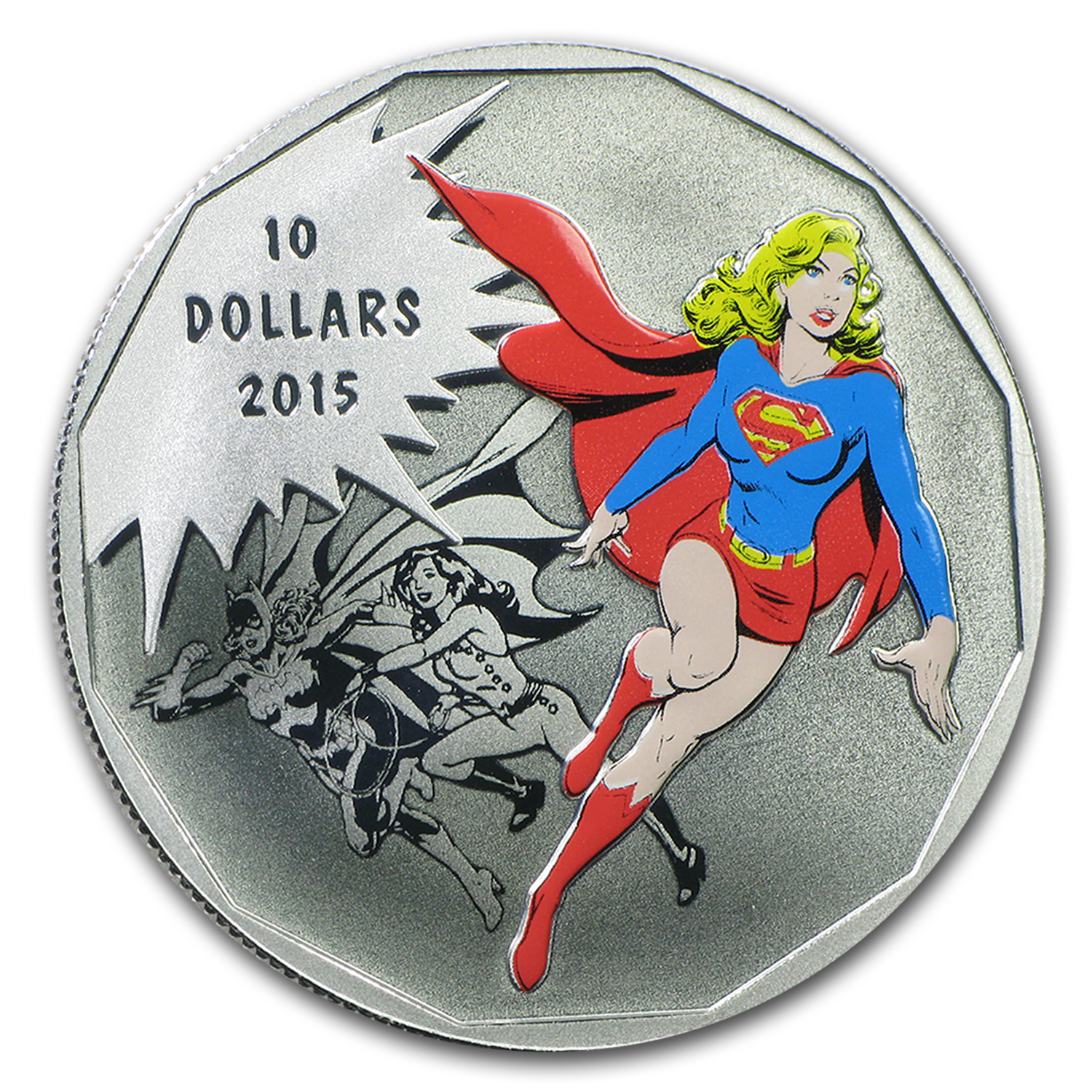 2015 Canada 1/2 oz Silver $10 DC Comics Originals: Unity