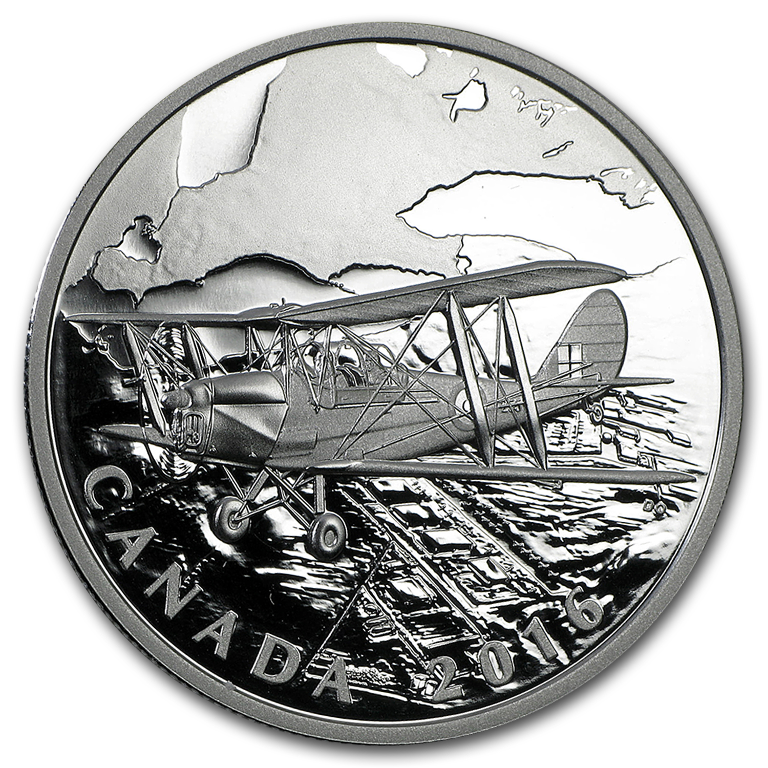 2016 Canada 1 oz Silver $20 Canadian Homefront: Air Training