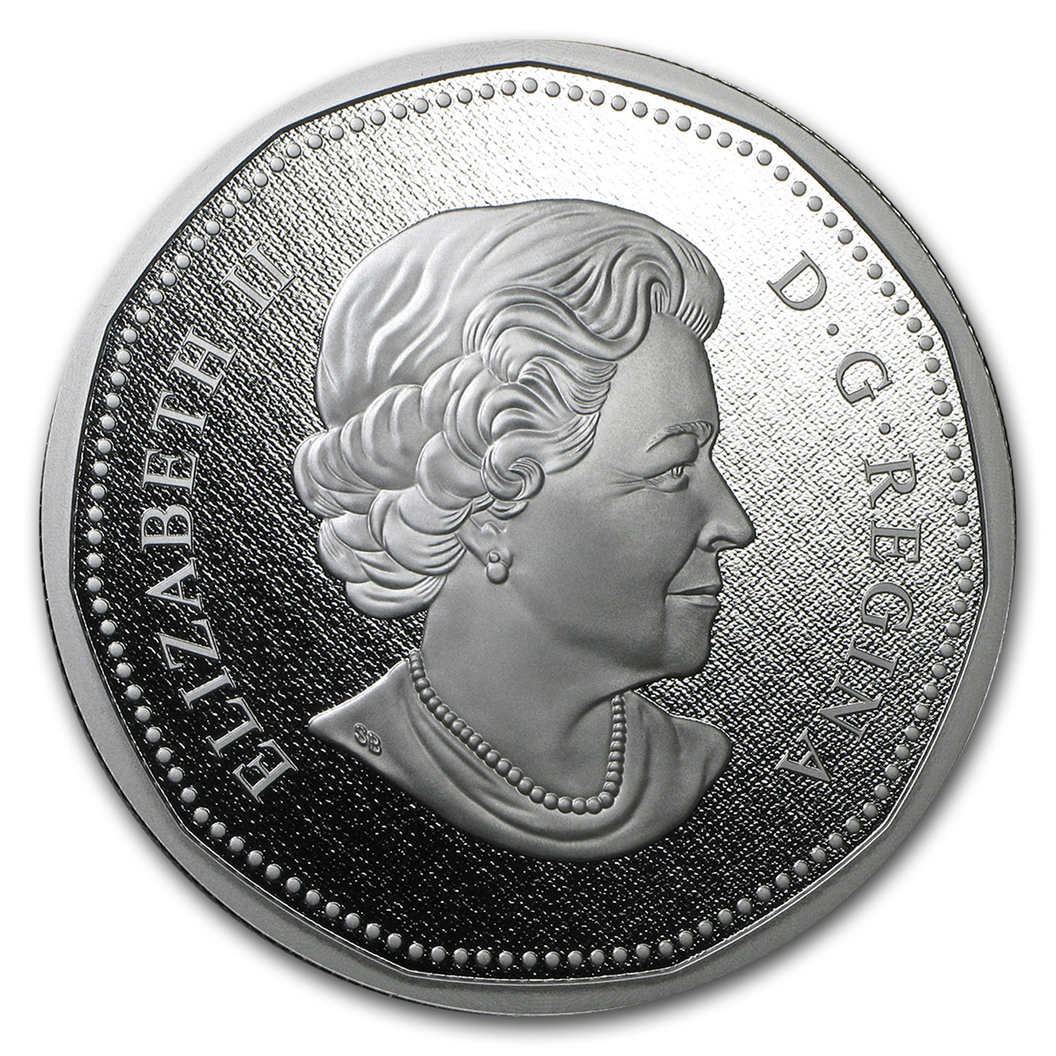 2016 Canada 5 oz Silver $1 Big Coin Series Dollar